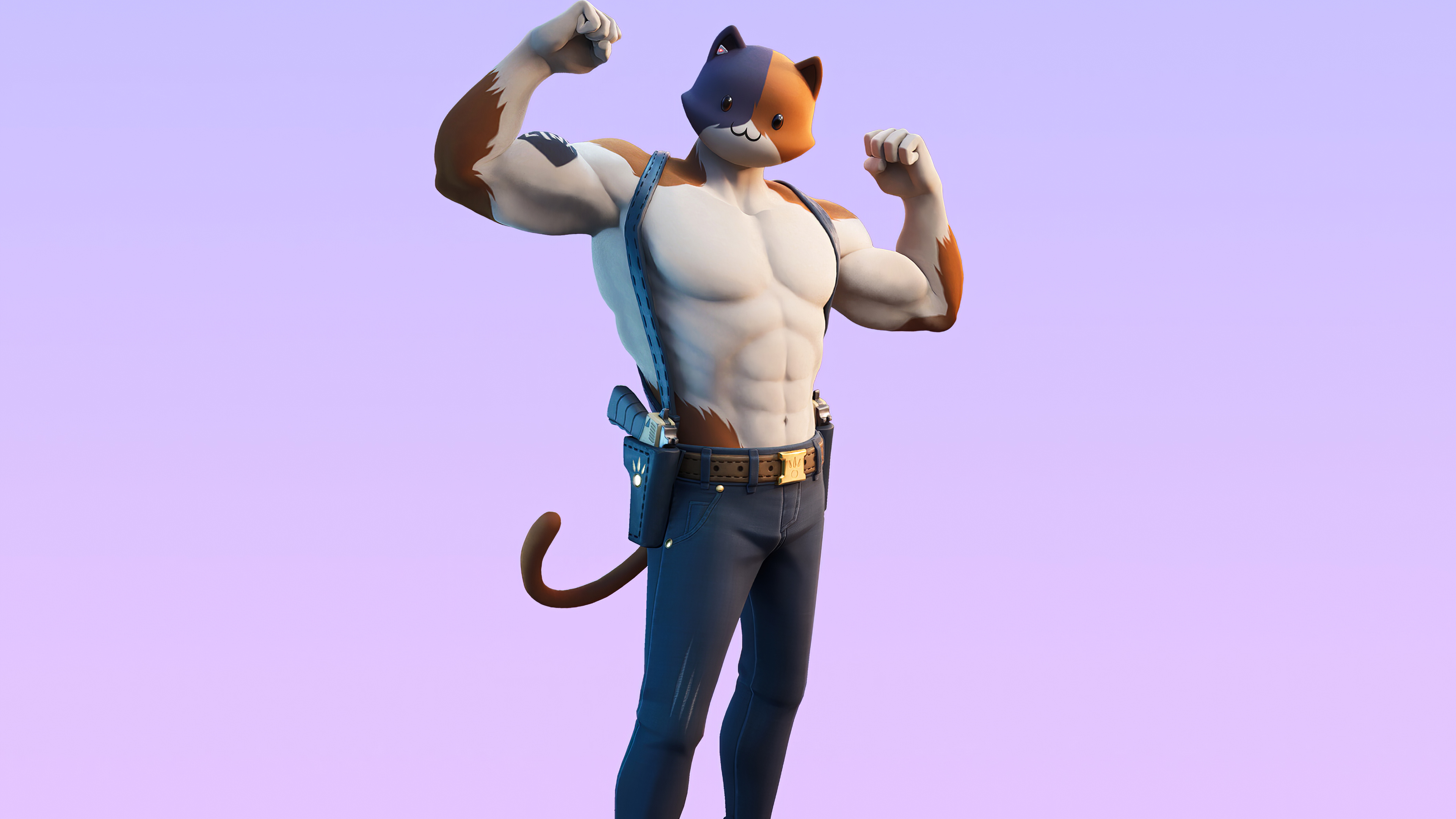 1024x768 Fortnite Meowscles Skin Outfit 4k 1024x768 Resolution Wallpaper Hd Games 4k Wallpapers Images Photos And Background