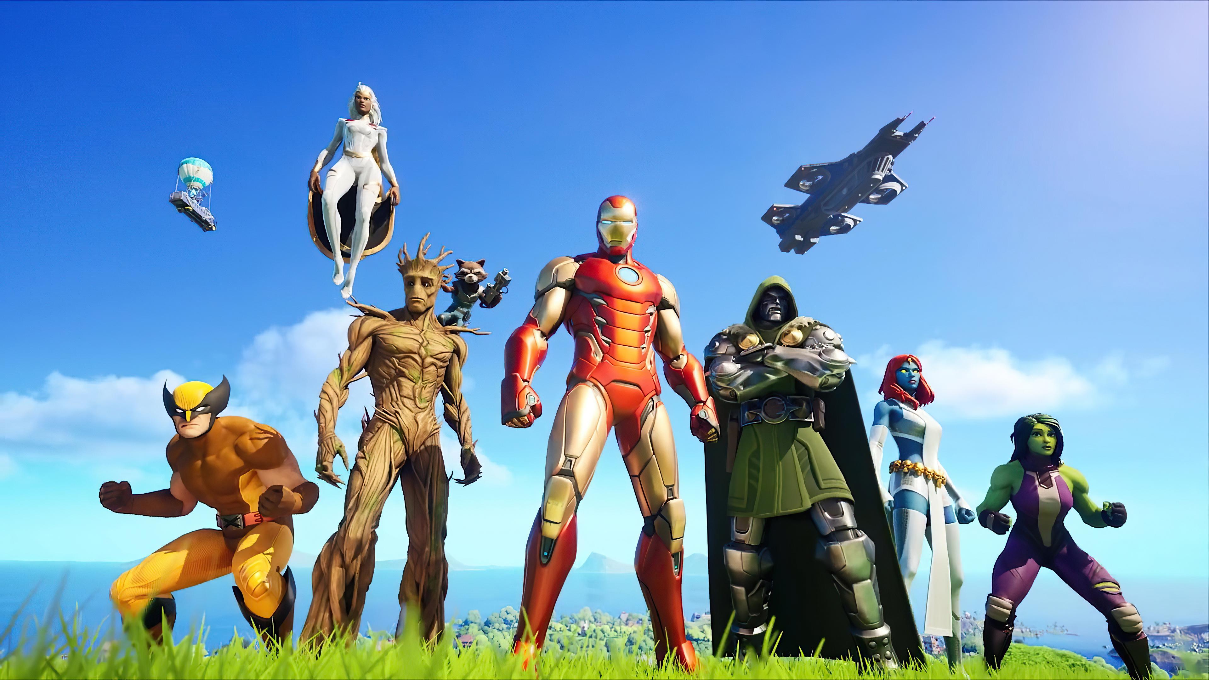 Fortnite Season 4 Nexus War Wallpaper Hd Games 4k Wallpapers Images Photos And Background