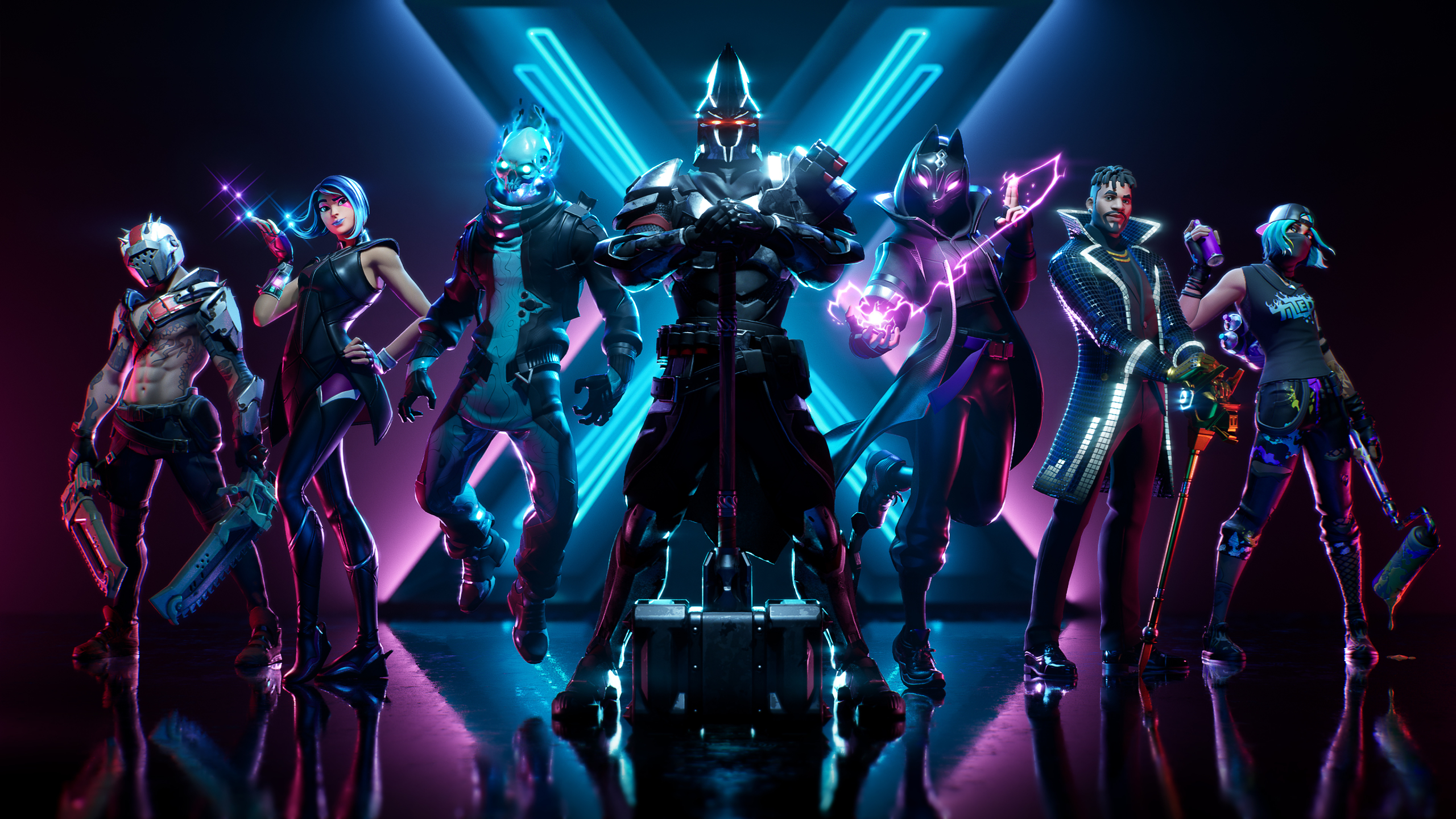 2560x1440 Fortnite Season X 1440p Resolution Wallpaper Hd