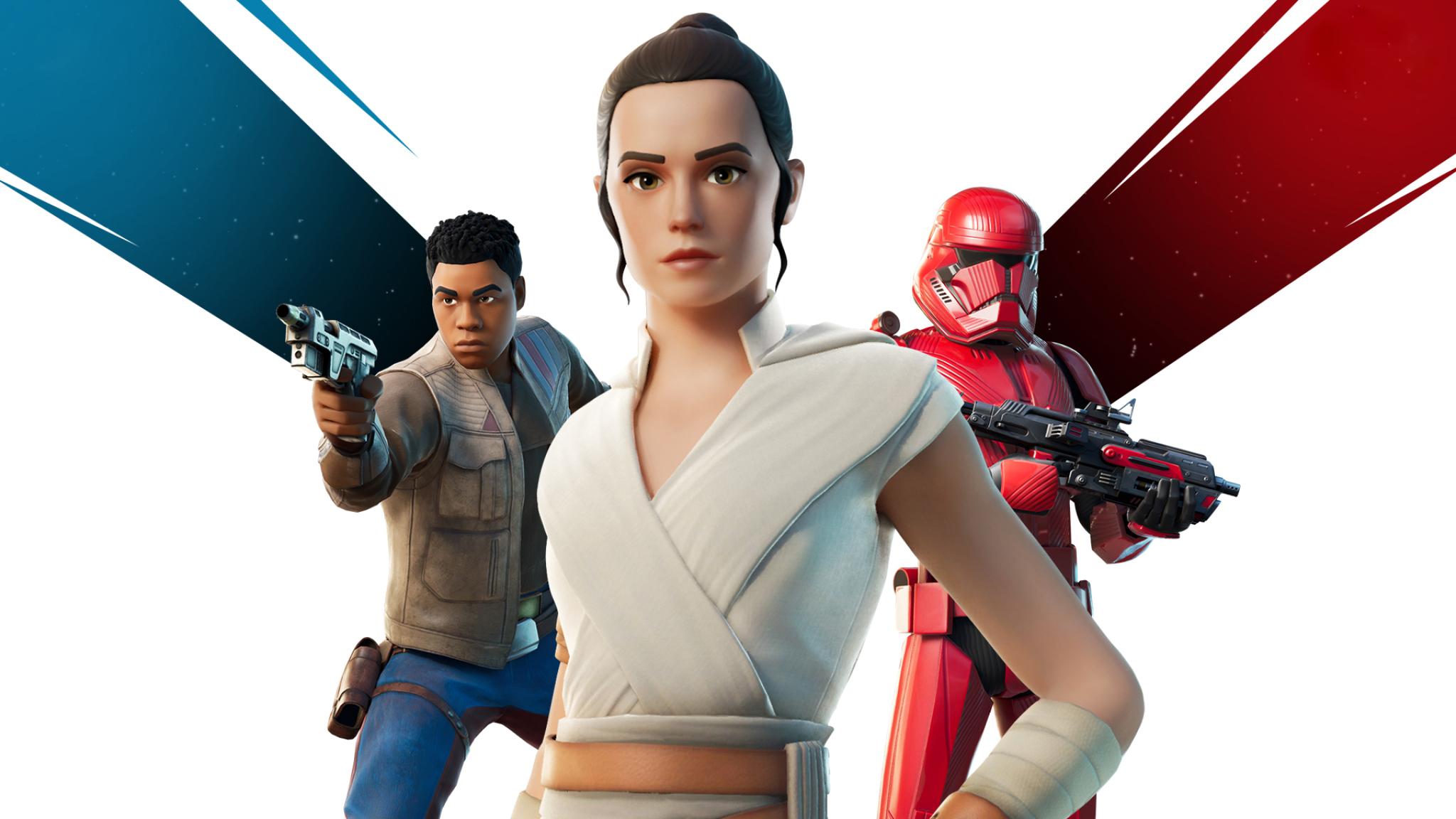 2048x1152 Fortnite Star Wars 9 Rise Of Skywalker 2048x1152