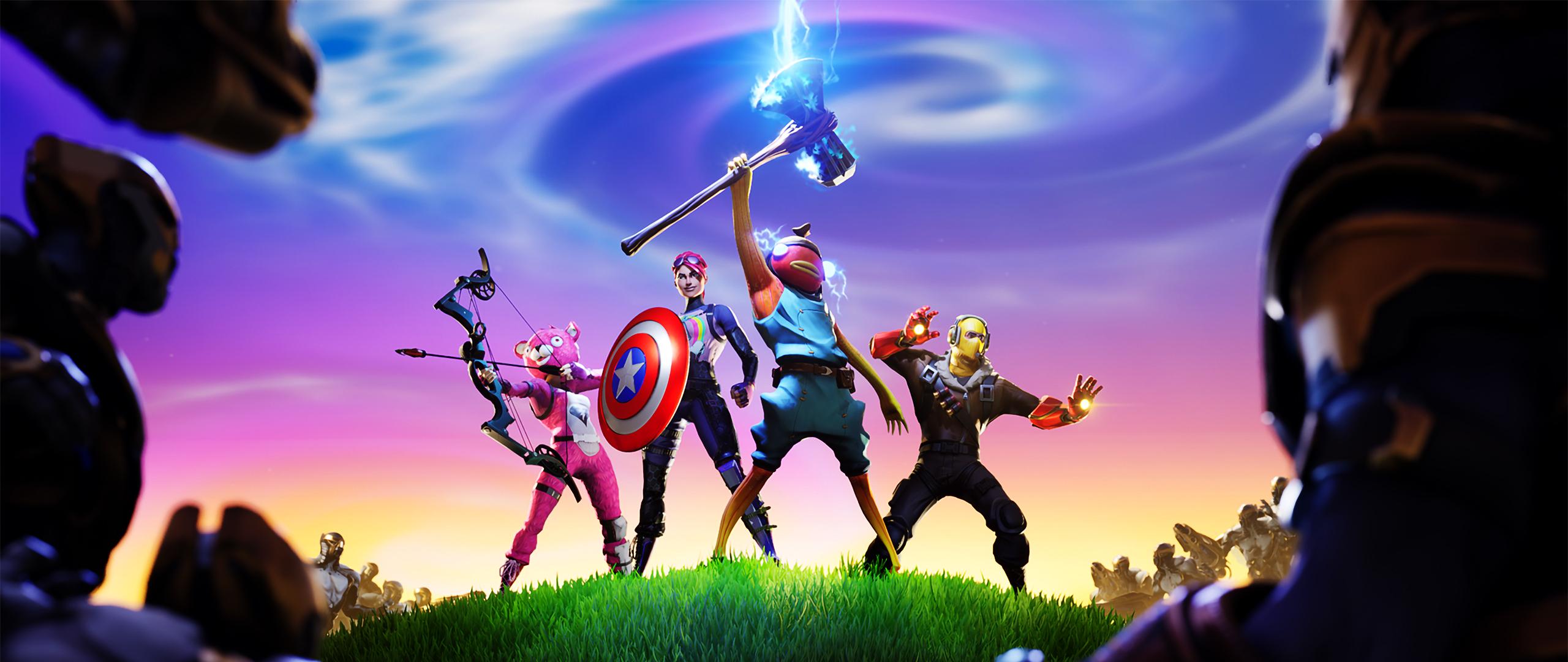 2560x1080 Fortnite x Avengers 2560x1080
