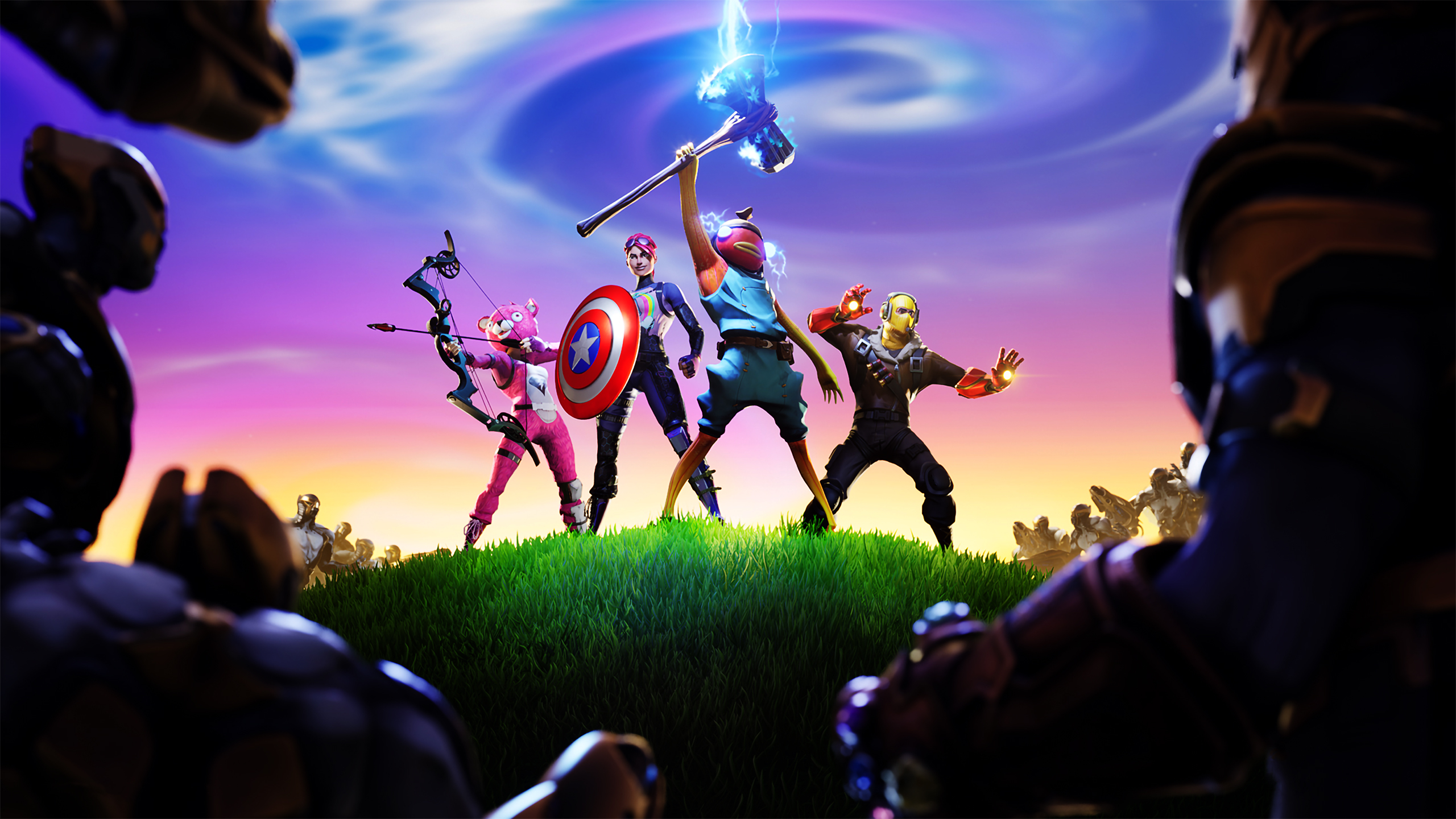 Fortnite X Avengers Wallpaper Hd Games 4k Wallpapers