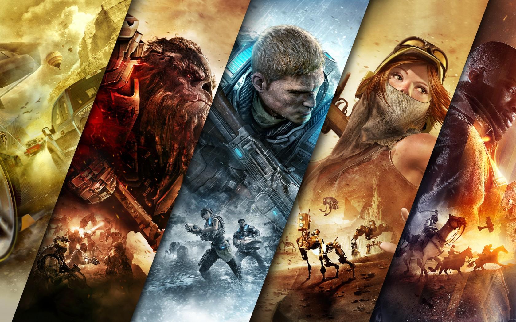 Forza Horizon 3 Halo Wars 2 Gears Of War 4 Wallpaper Hd Games
