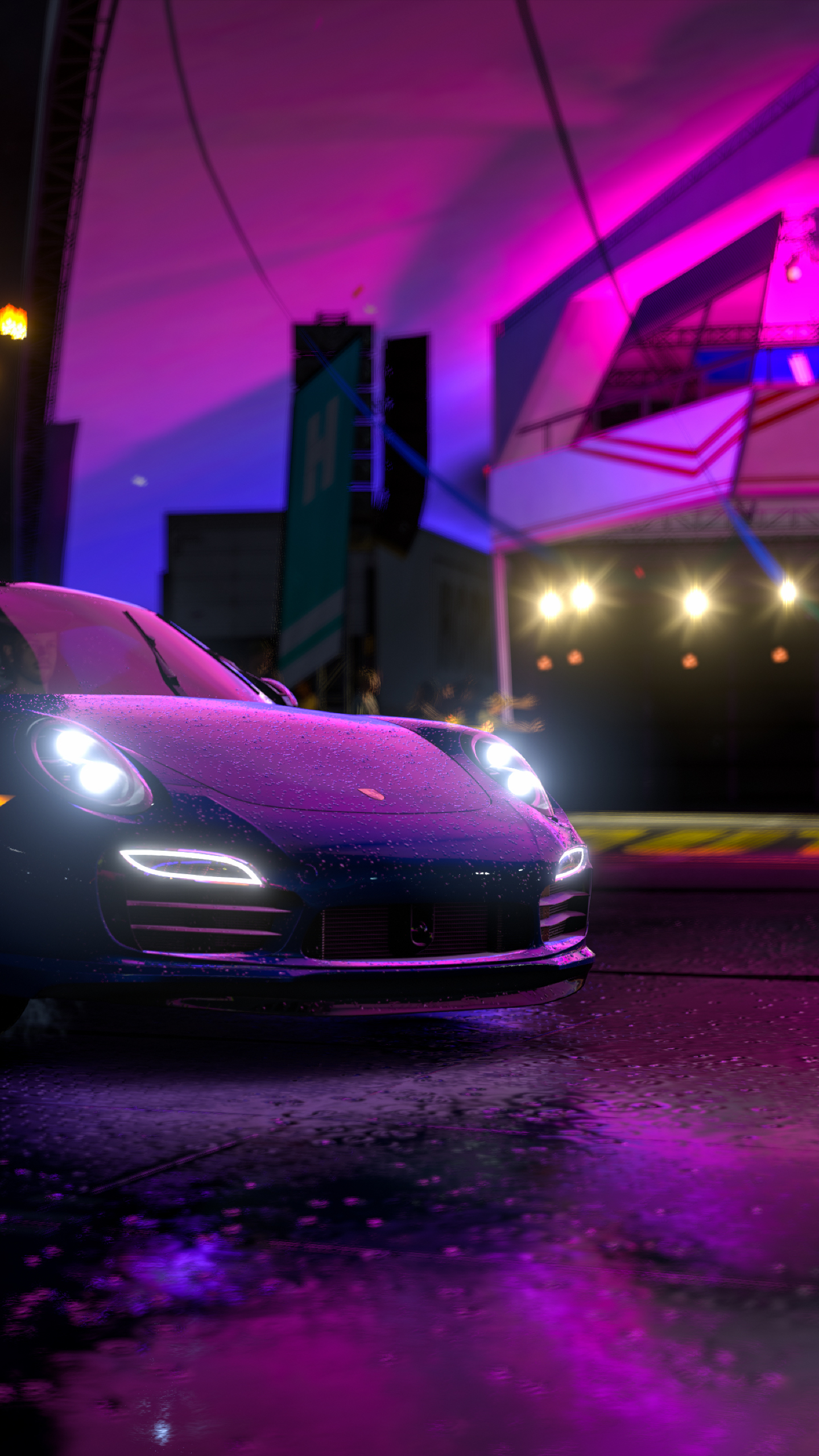 download forza horizon 3 porsche 911 1440x2560 resolution, hd 4k