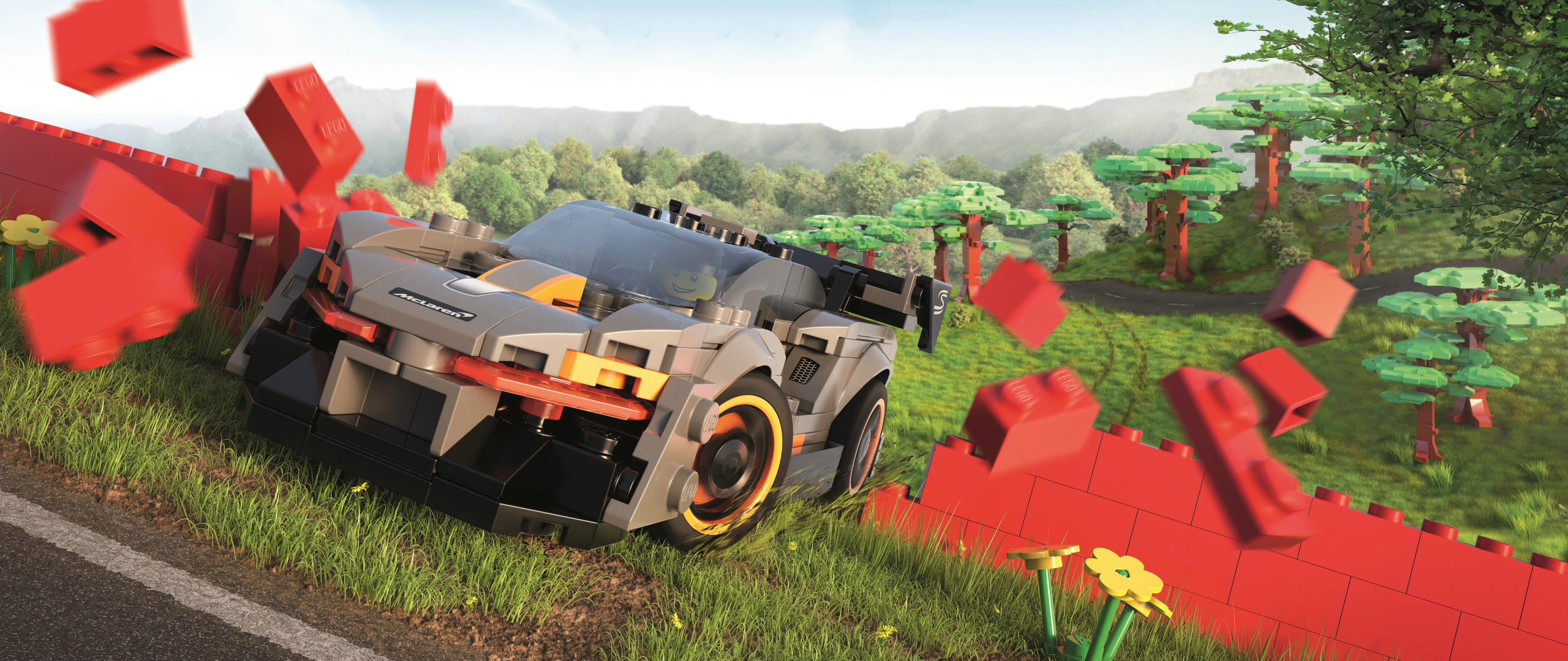 Forza Horizon Lego Wallpaper in 2560x1080 Resolution