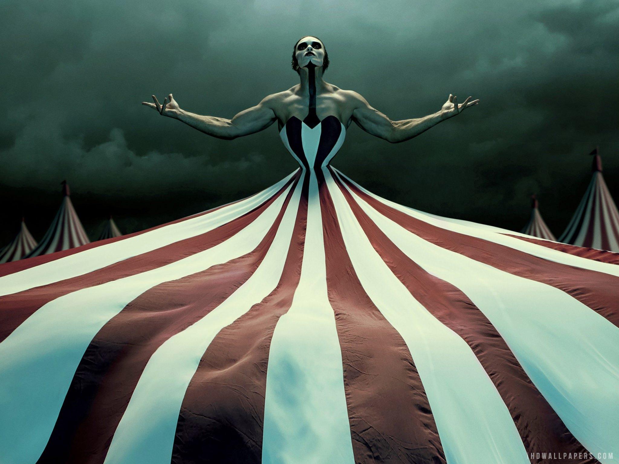 Freakshow american horror story full hd 2k wallpaper - Ahs wallpaper ...