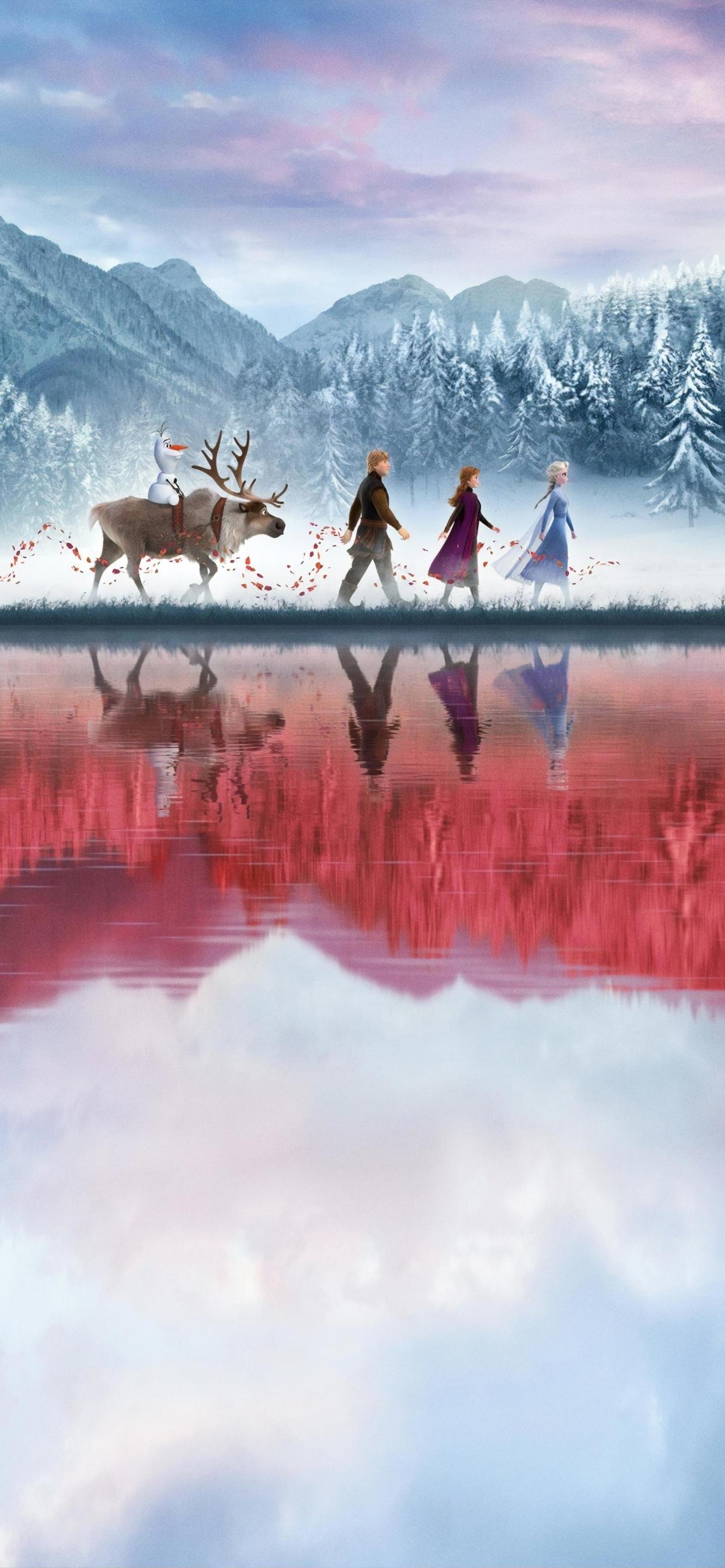 1242x2688 Frozen 2 Movie Iphone XS MAX Wallpaper, HD Movies