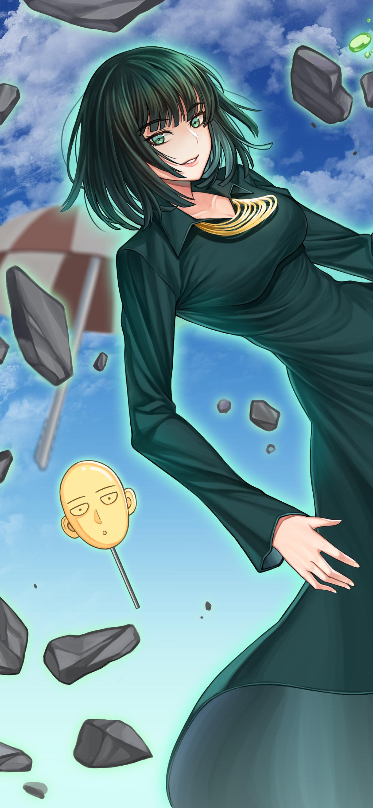 1242x2688 Fubuki One Punch Man Iphone Xs Max Wallpaper Hd Anime