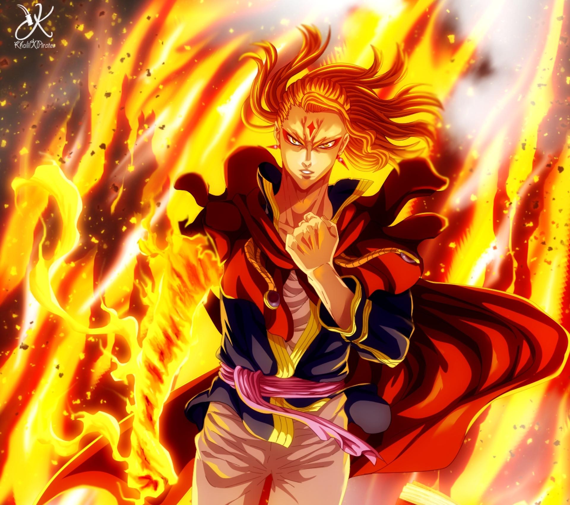 Fuegoleon Vermillion Art Wallpaper, HD Anime 4K Wallpapers ...