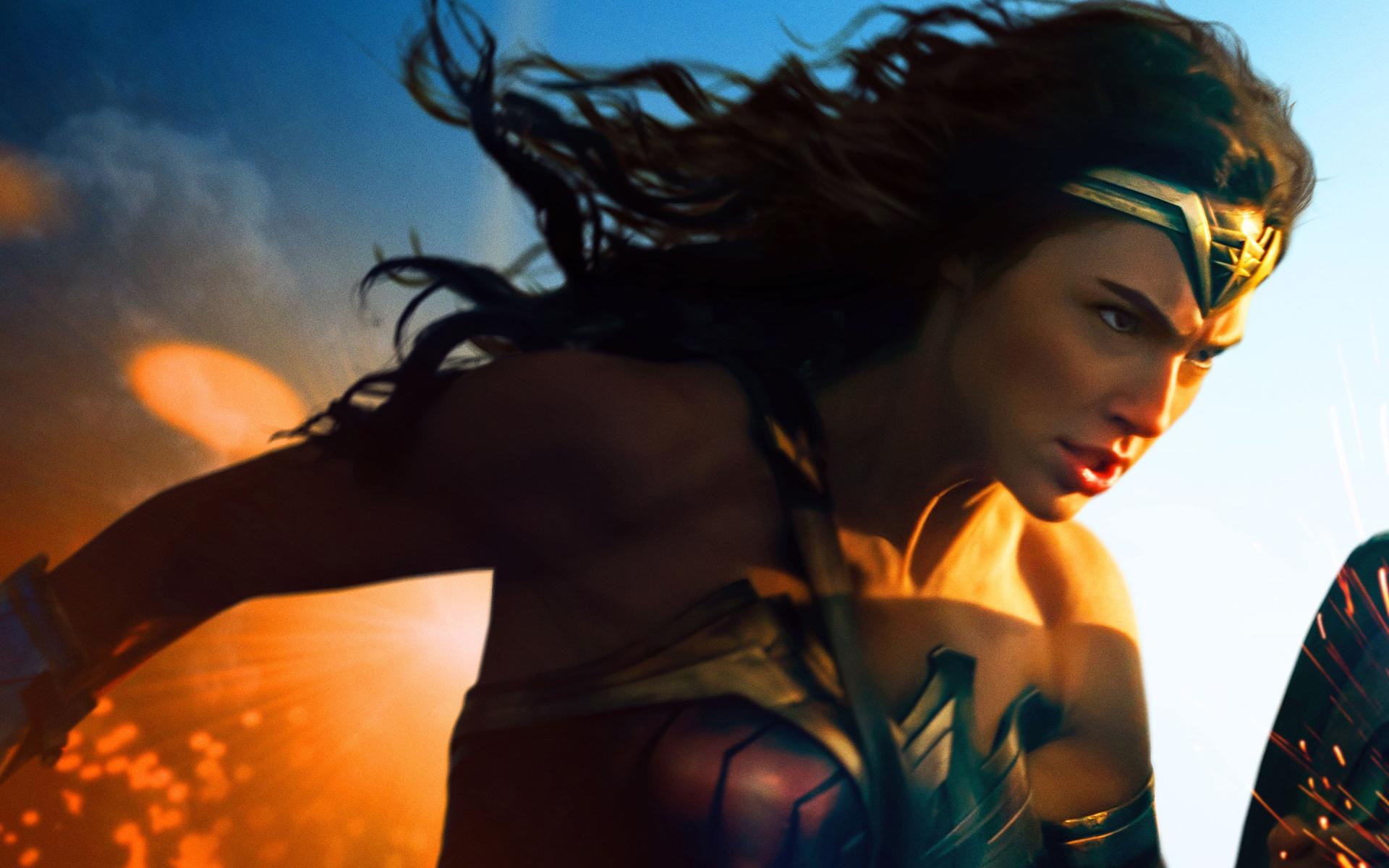 1920x1200 Gal Gadot In Wonder Woman 2017 1200p Wallpaper Hd