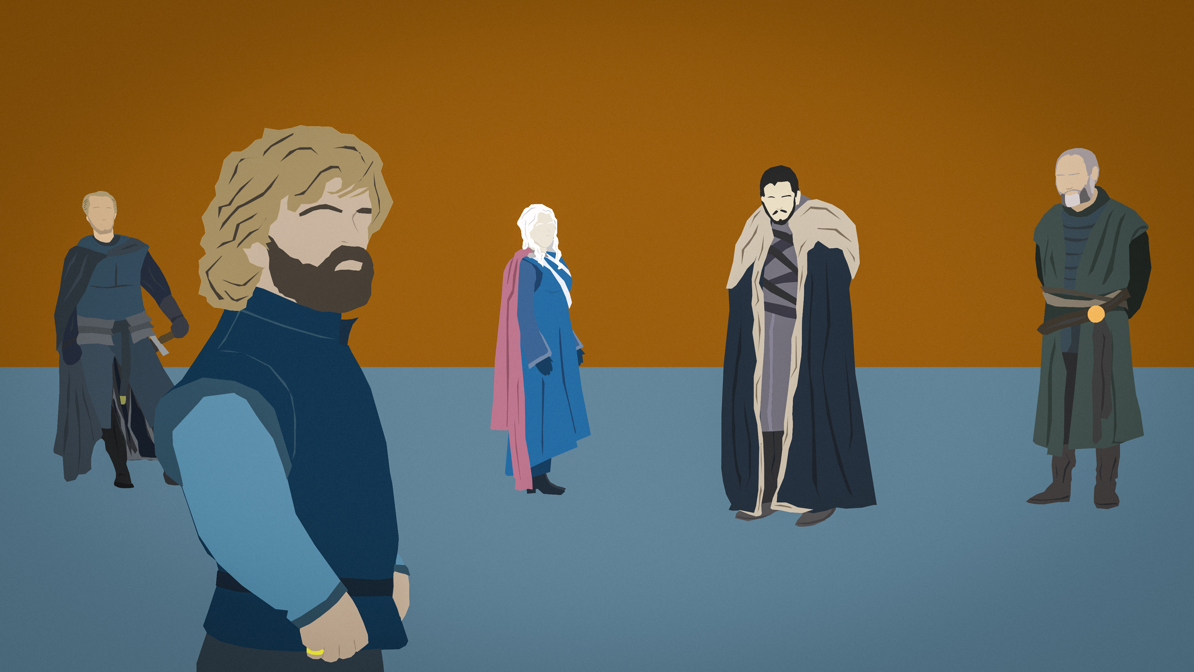 960x544 Game Of Thrones 7 Finale Minimal 960x544 Resolution