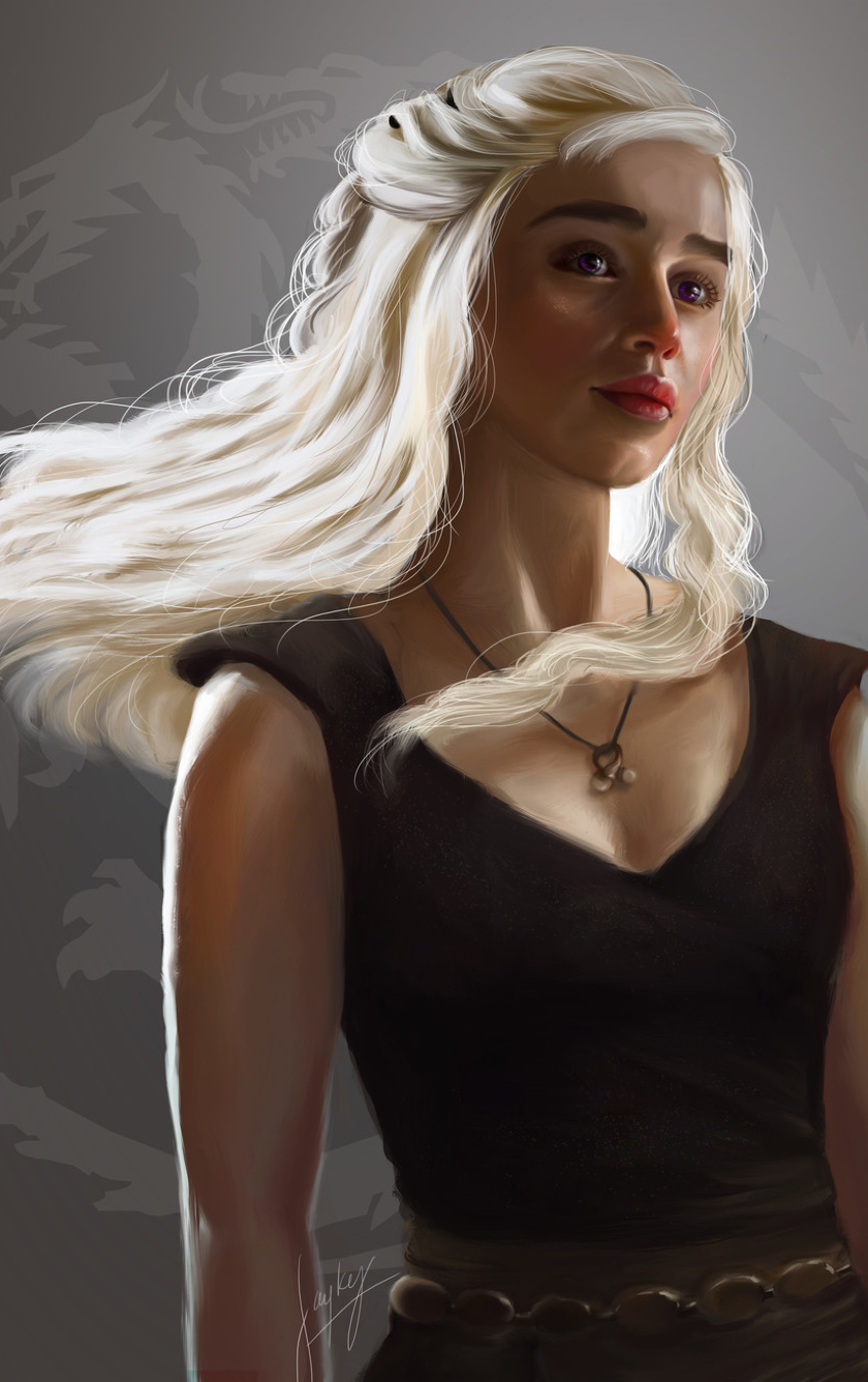 Game of thrones targaryen girl