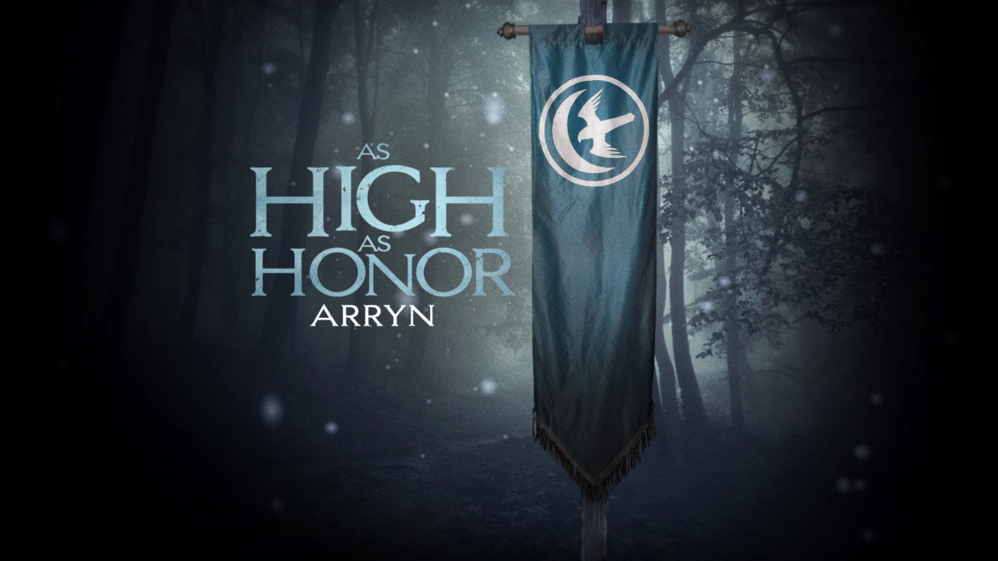 2048x1152 Game Of Thrones House Arryn Banner Hd 2048x1152