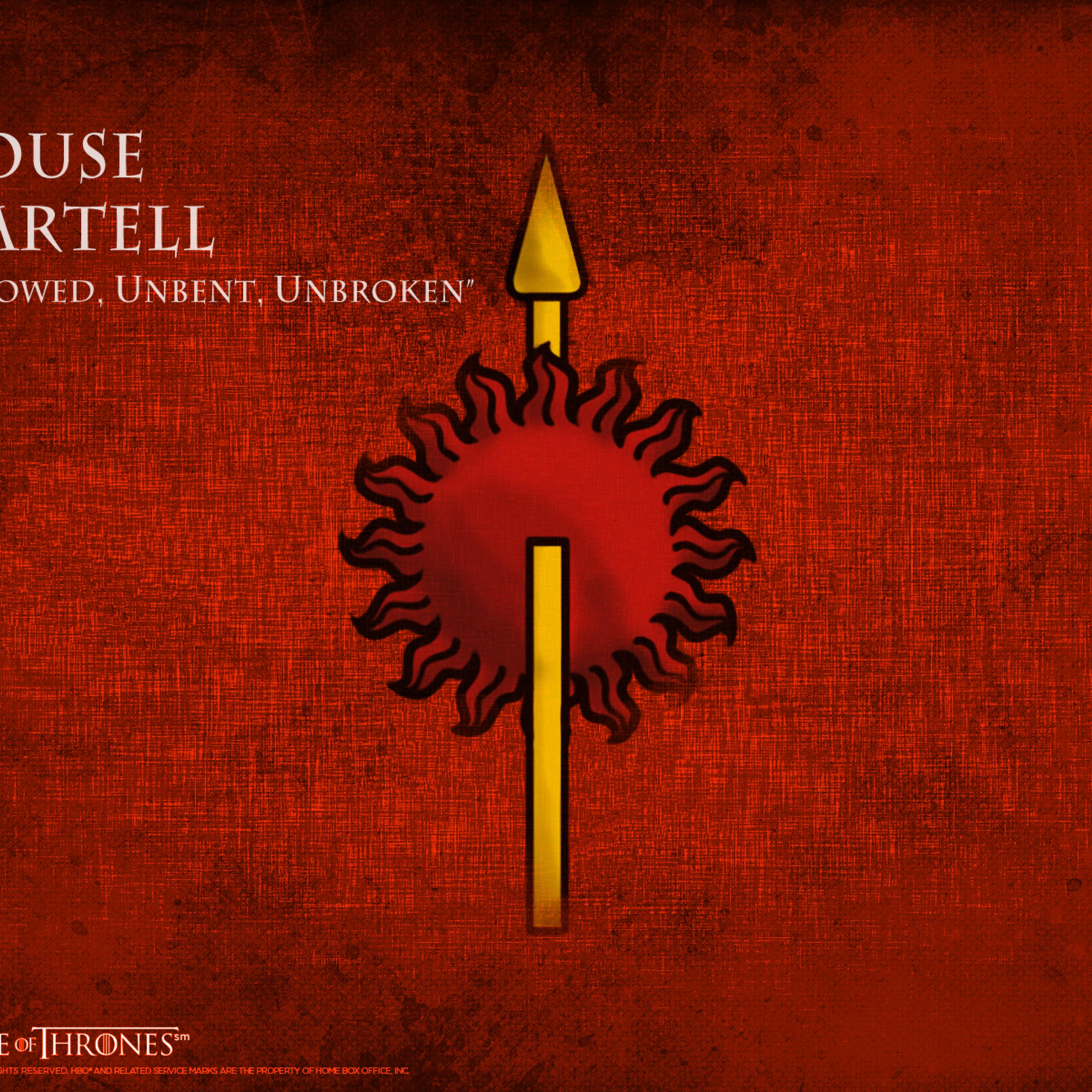 2932x2932 Game Of Thrones House Martell Ipad Pro Retina Display