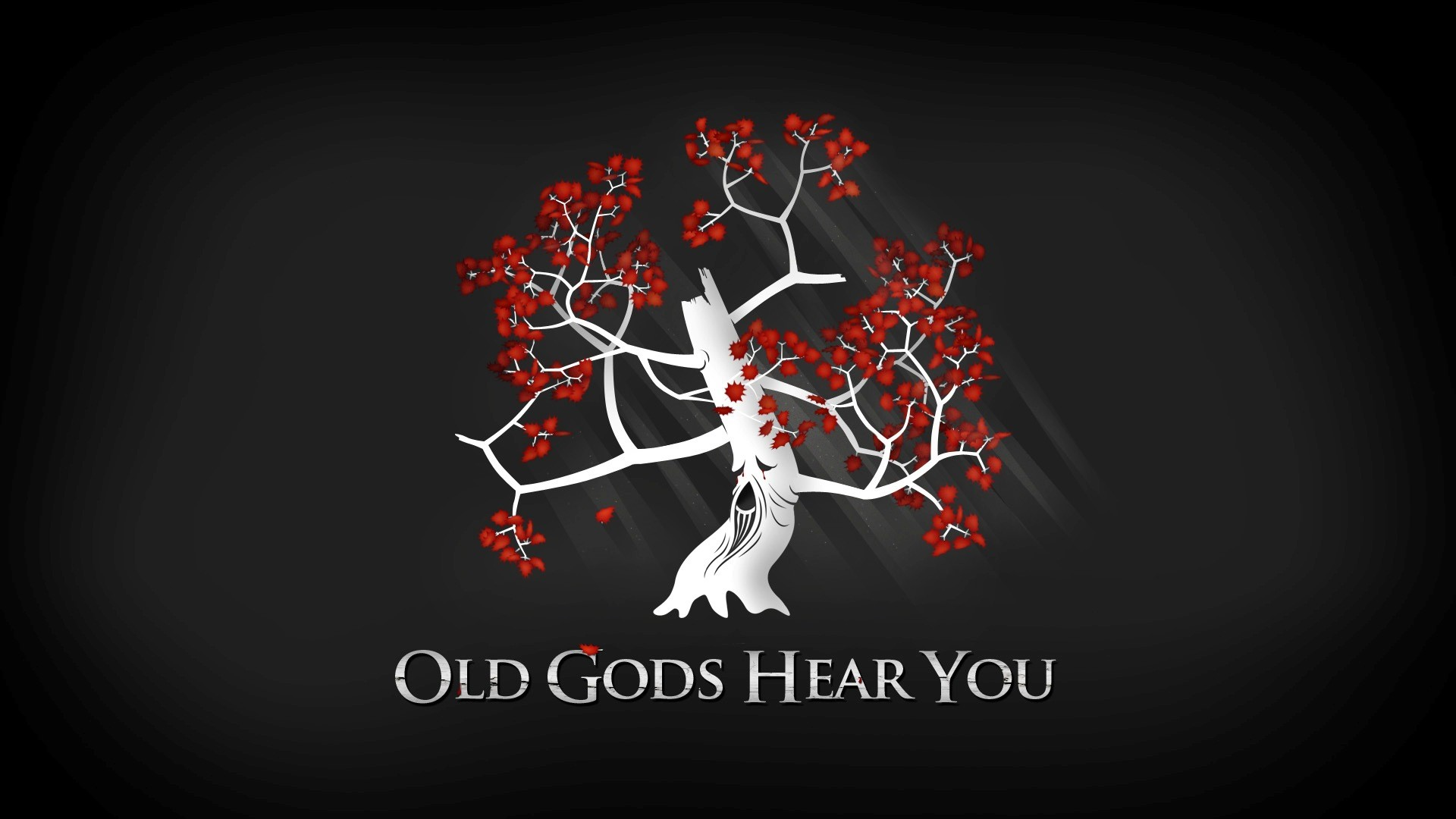 Game Of Thrones Old Gods Hear You Quotes Photoshoot Full HD Wallpaper