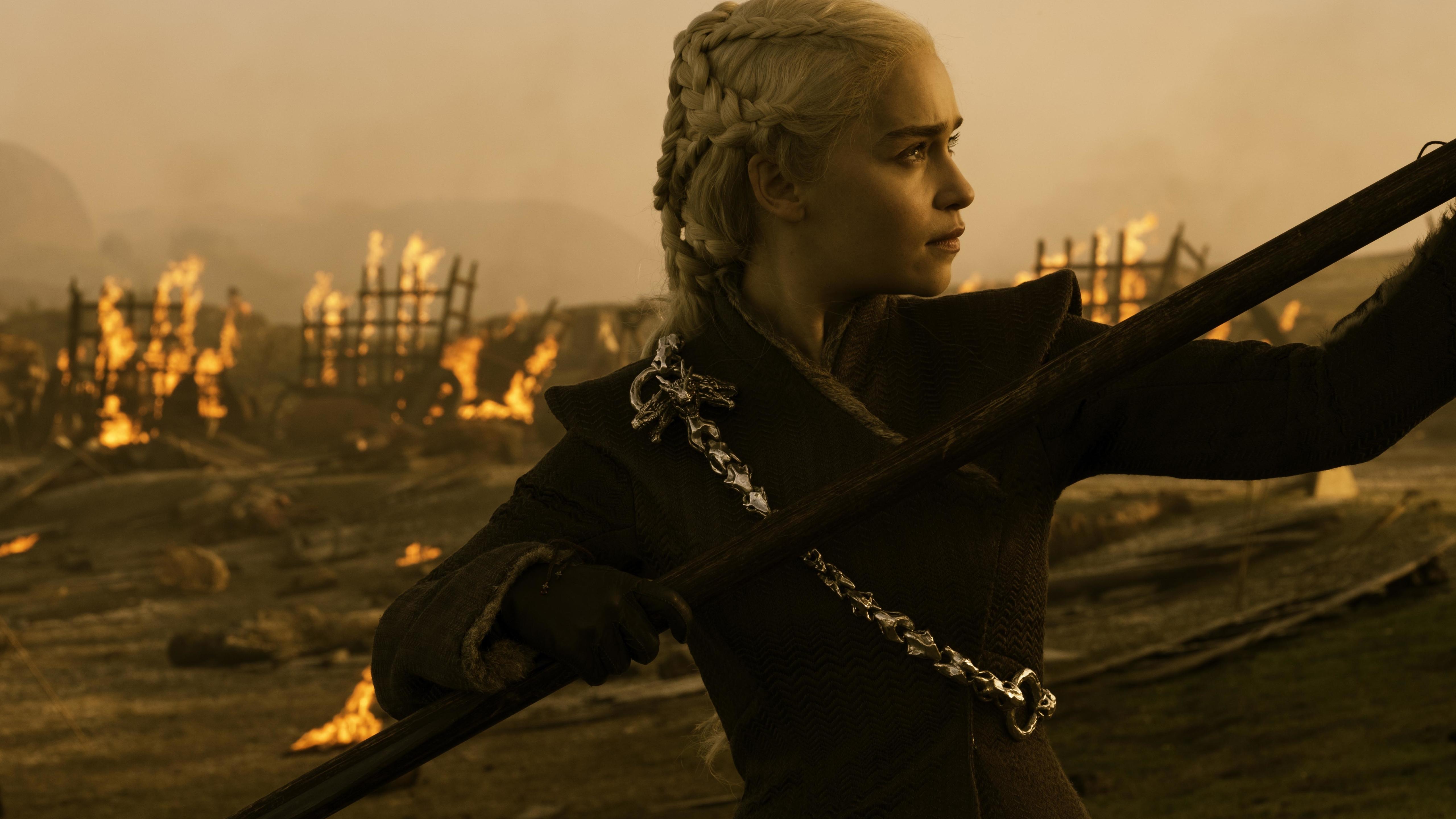 5120x2880 Game Of Thrones Season 7 Emilia Clarke As Daenerys