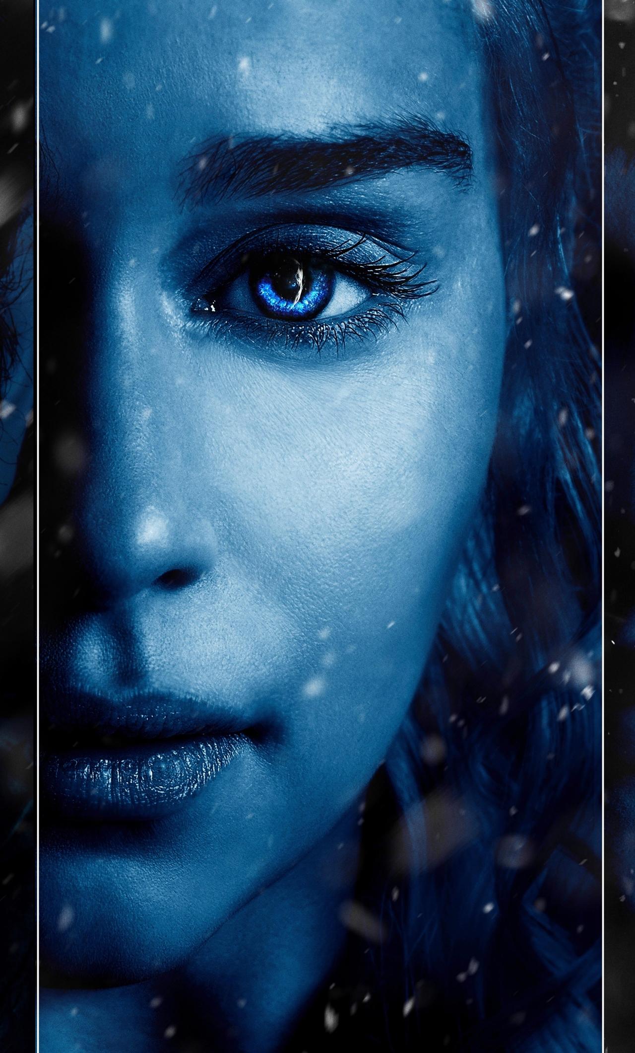1280x2120 Game Of Thrones Season 7 Jon Snow Daenerys And Brandon