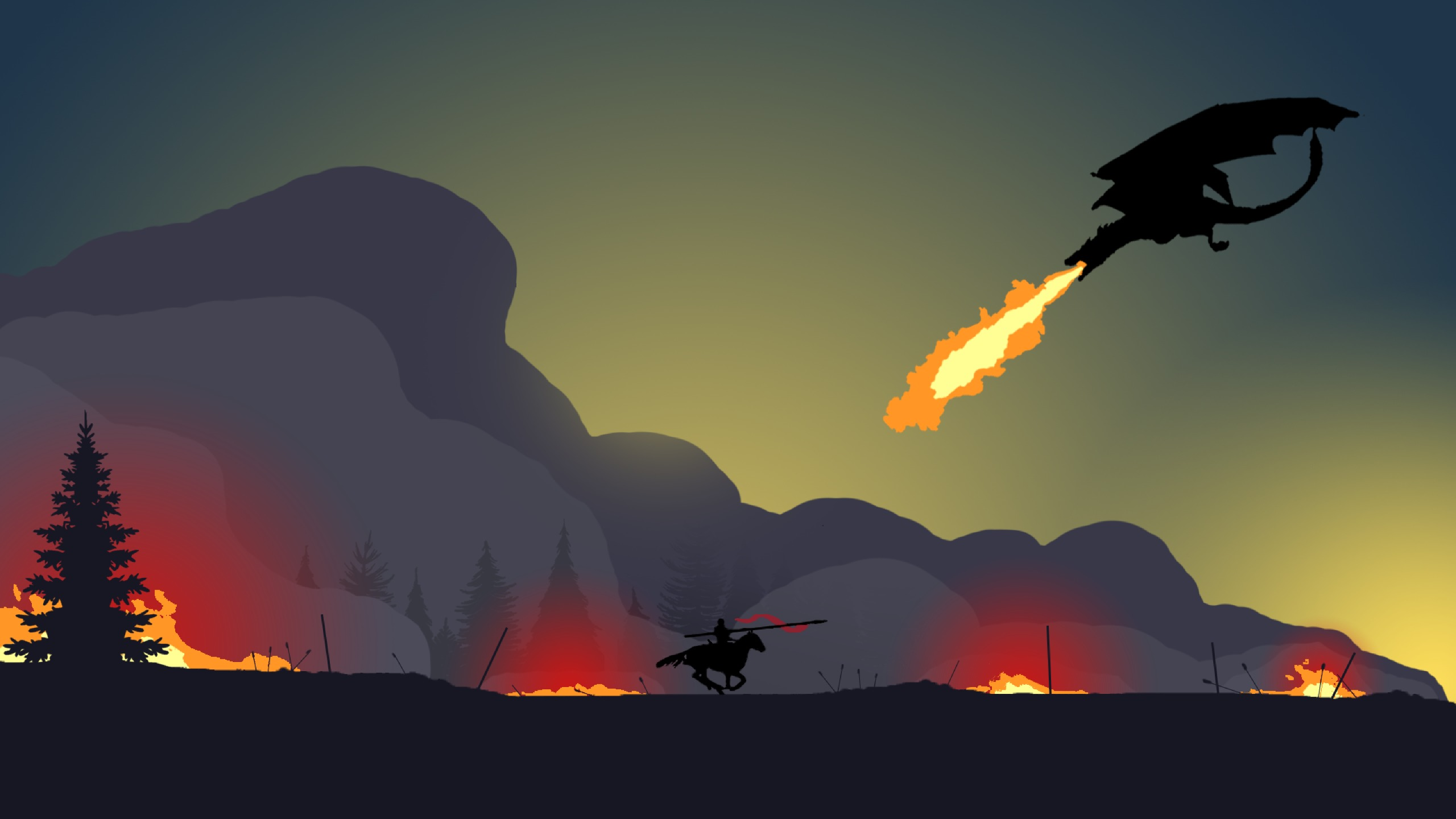 2560x1440 Game Of Thrones Season 7 The Spoils Of War Minimal Art 1440p Resolution Wallpaper Hd Movies 4k Wallpapers Images Photos And Background