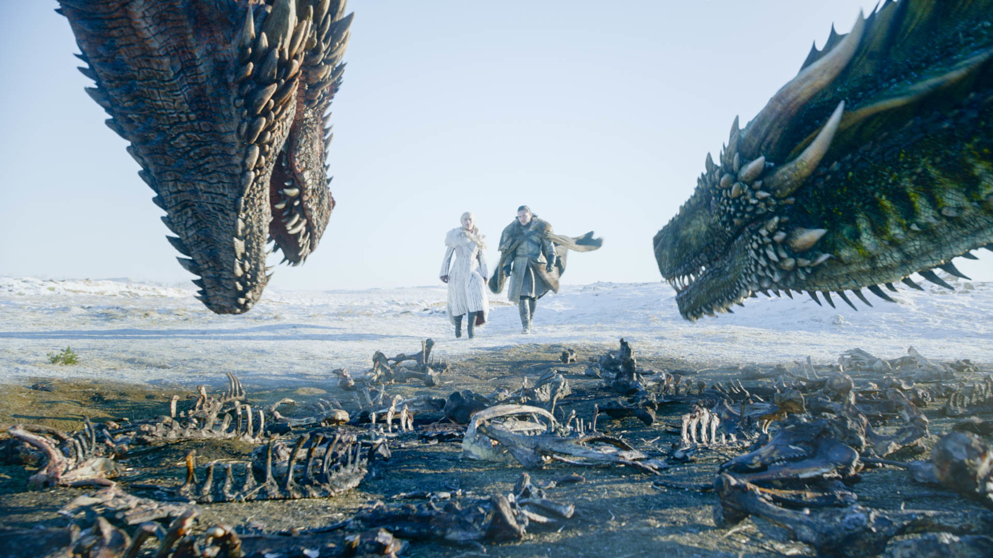 Game Of Thrones Season 8 Jon Snow And Daenerys Targaryen In