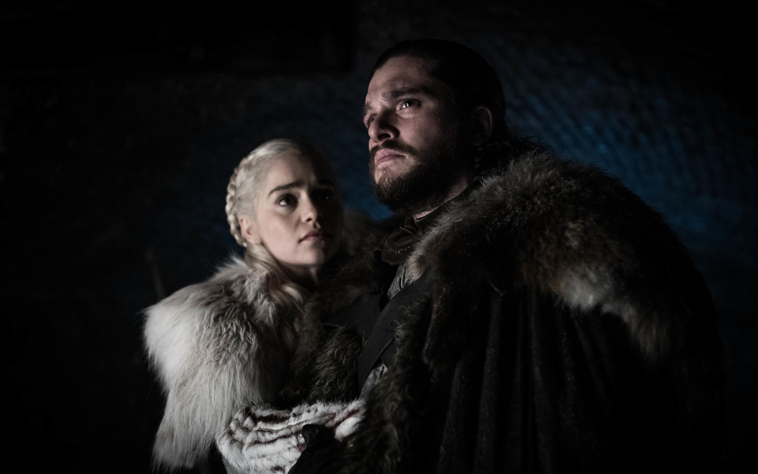 2560x1600 Game Of Thrones Season 8 Jon Snow And Daenerys Targaryen