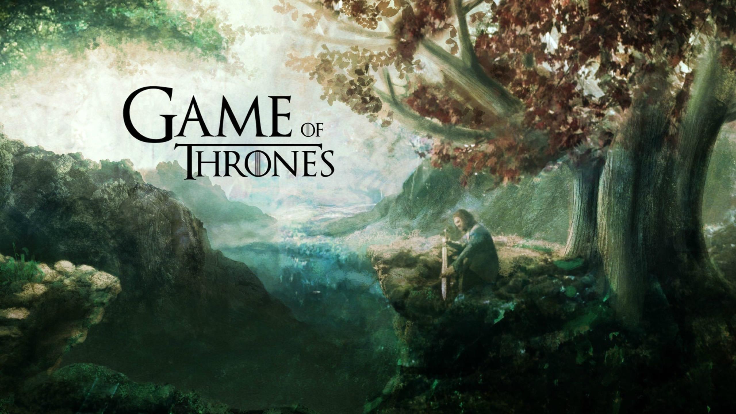 2560x1440 Game Of Thrones Tv Show Banner Wallpaper 1440p