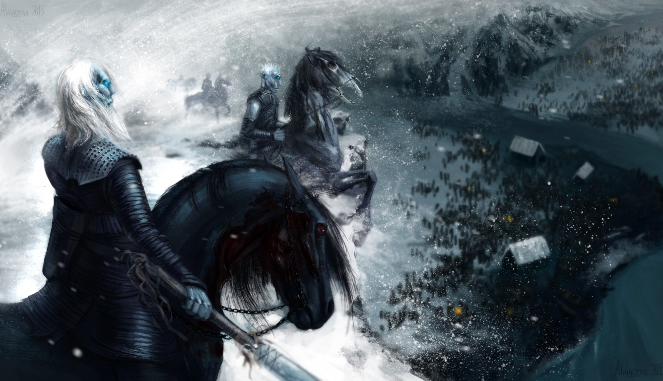 1336x768 Game Of Thrones White Walker Artwork Hd Laptop