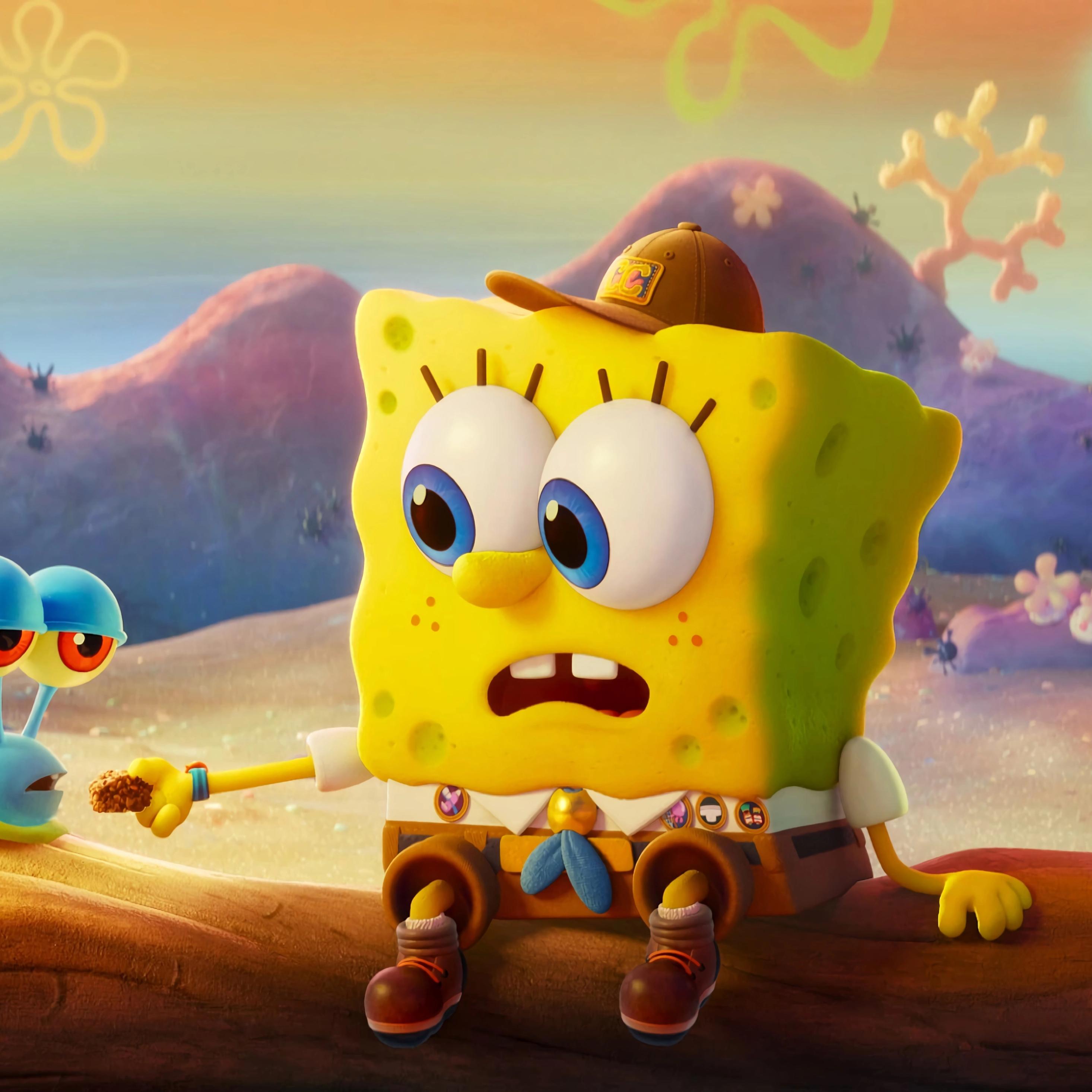 2932x2932 Gary & SpongeBob Ipad Pro Retina Display ...