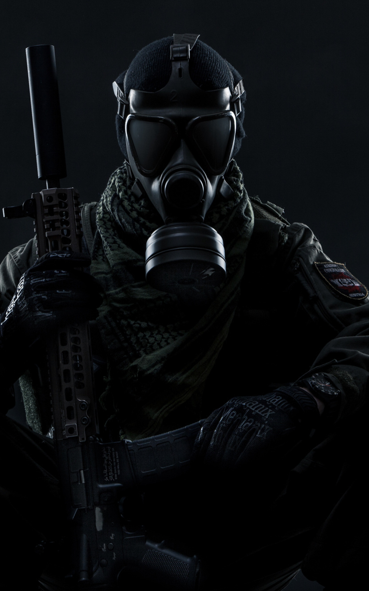 1200x1920 Gas Mask Soldier Tom Clancy S Ghost Recon Wildlands