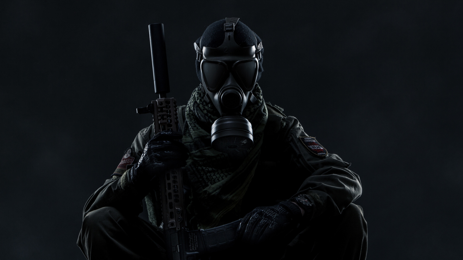 Pubg Gas Mask Guy Hd Games 4k Wallpapers Images: Gas Mask Soldier Tom Clancy's Ghost Recon Wildlands, Full