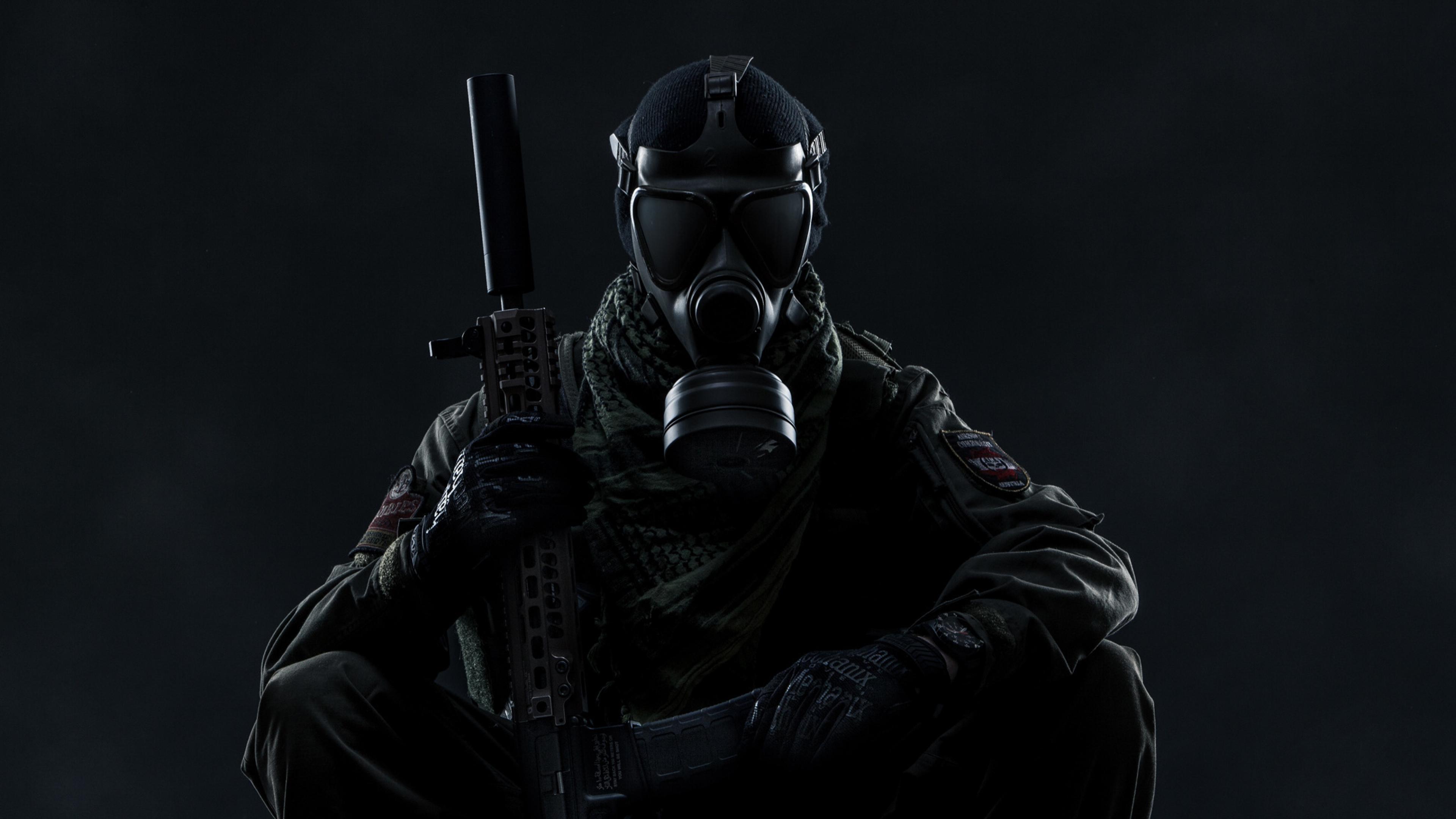 3840x2160 Gas Mask Soldier Tom Clancy S Ghost Recon Wildlands 4k