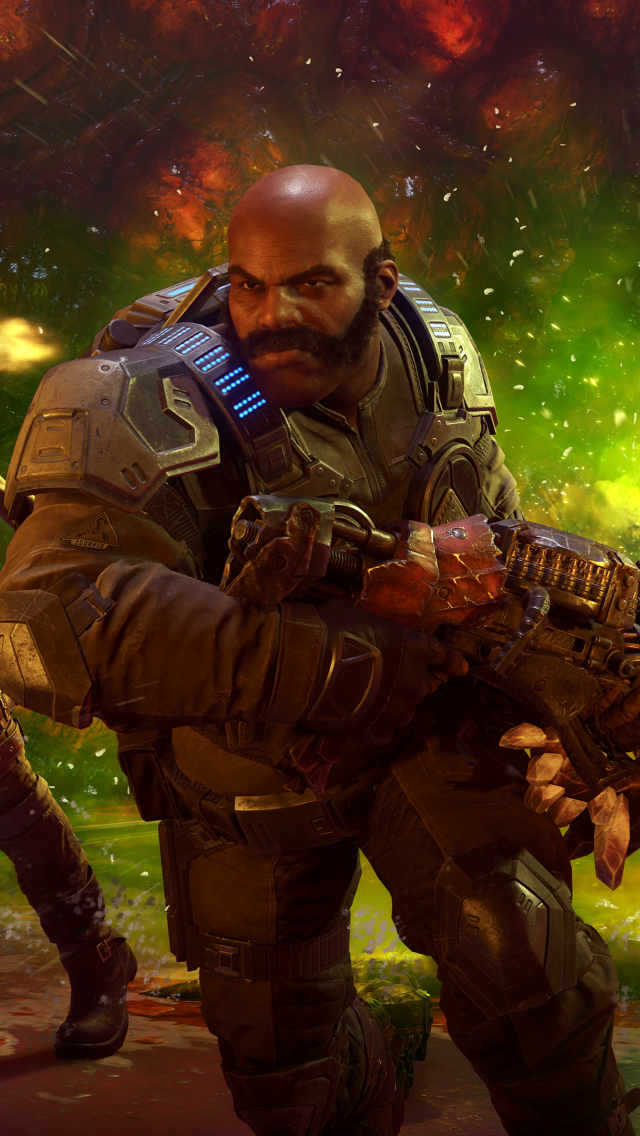 640x1136 Gears 5 4K iPhone 5,5c,5S,SE ,Ipod Touch ...