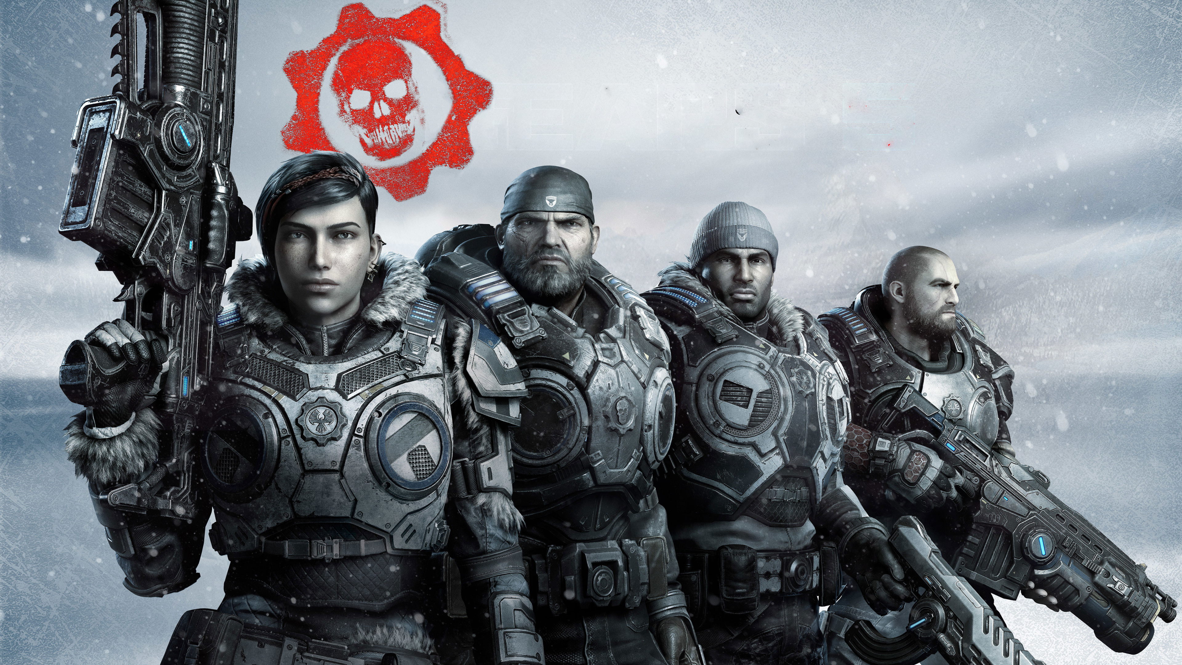 Gears 5 Game Wallpaper in 3840x2160 Resolution