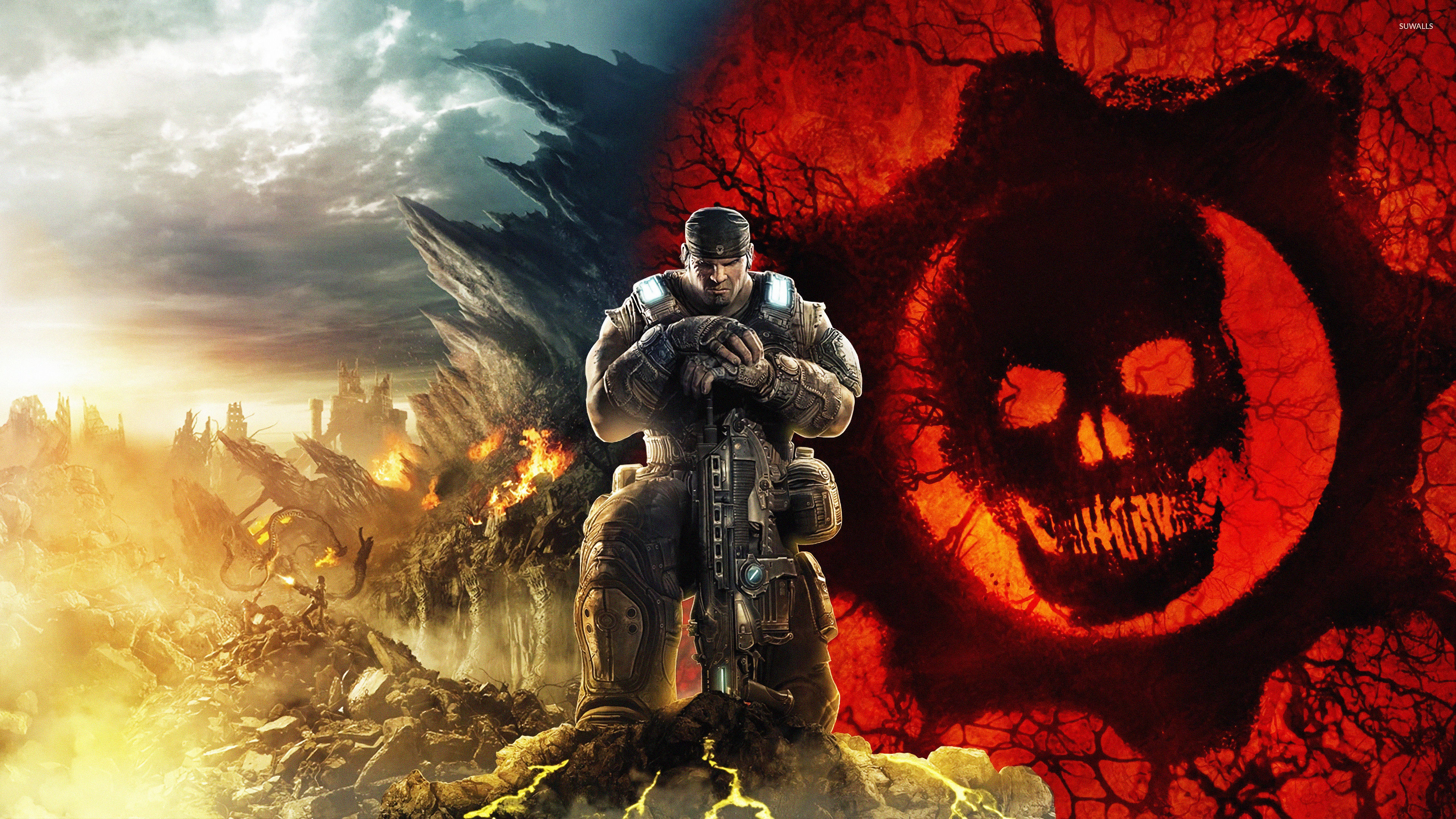1242x2688 Gears Of War 5 Game Iphone Xs Max Wallpaper Hd Games 4k