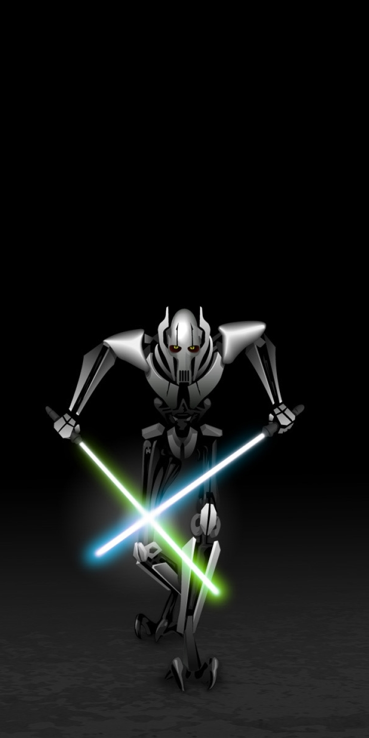 720x1440 General Grevious Star Wars 720x1440 Resolution Wallpaper Hd Movies 4k Wallpapers Images Photos And Background