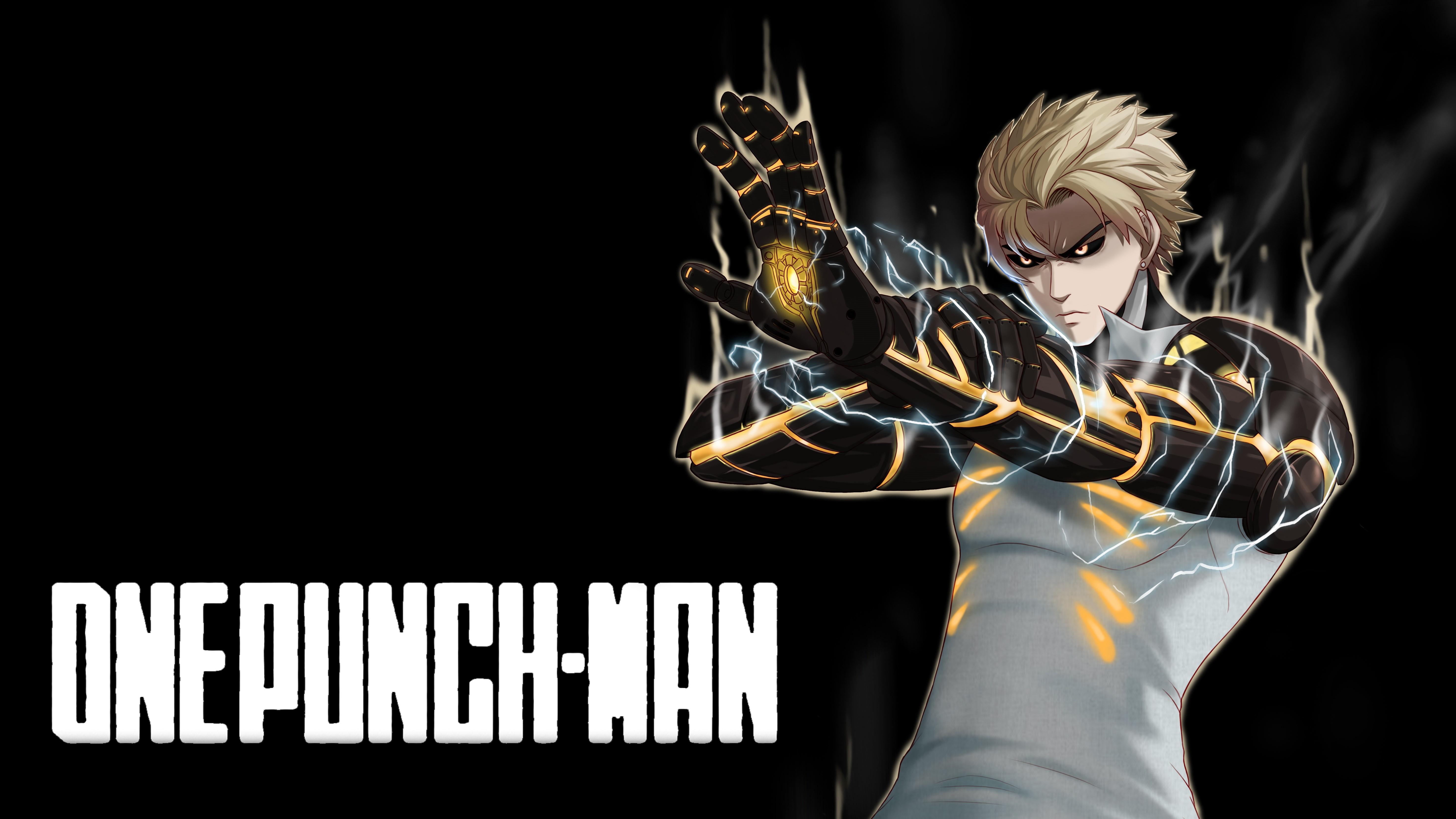 Genos One Punch Man Wallpaper Hd Anime 4k Wallpapers