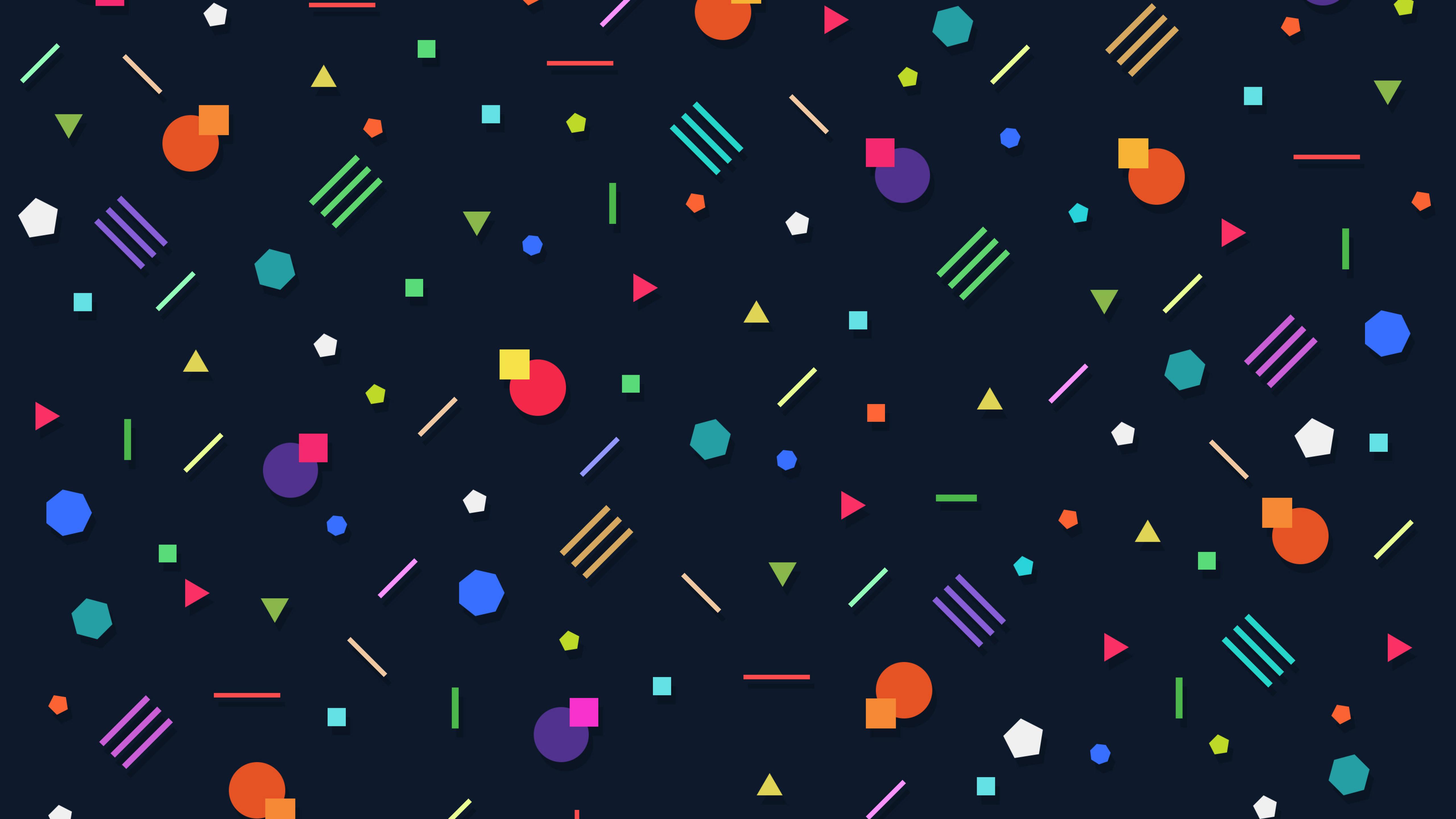 Geometry Abstract HD 4K Wallpaper