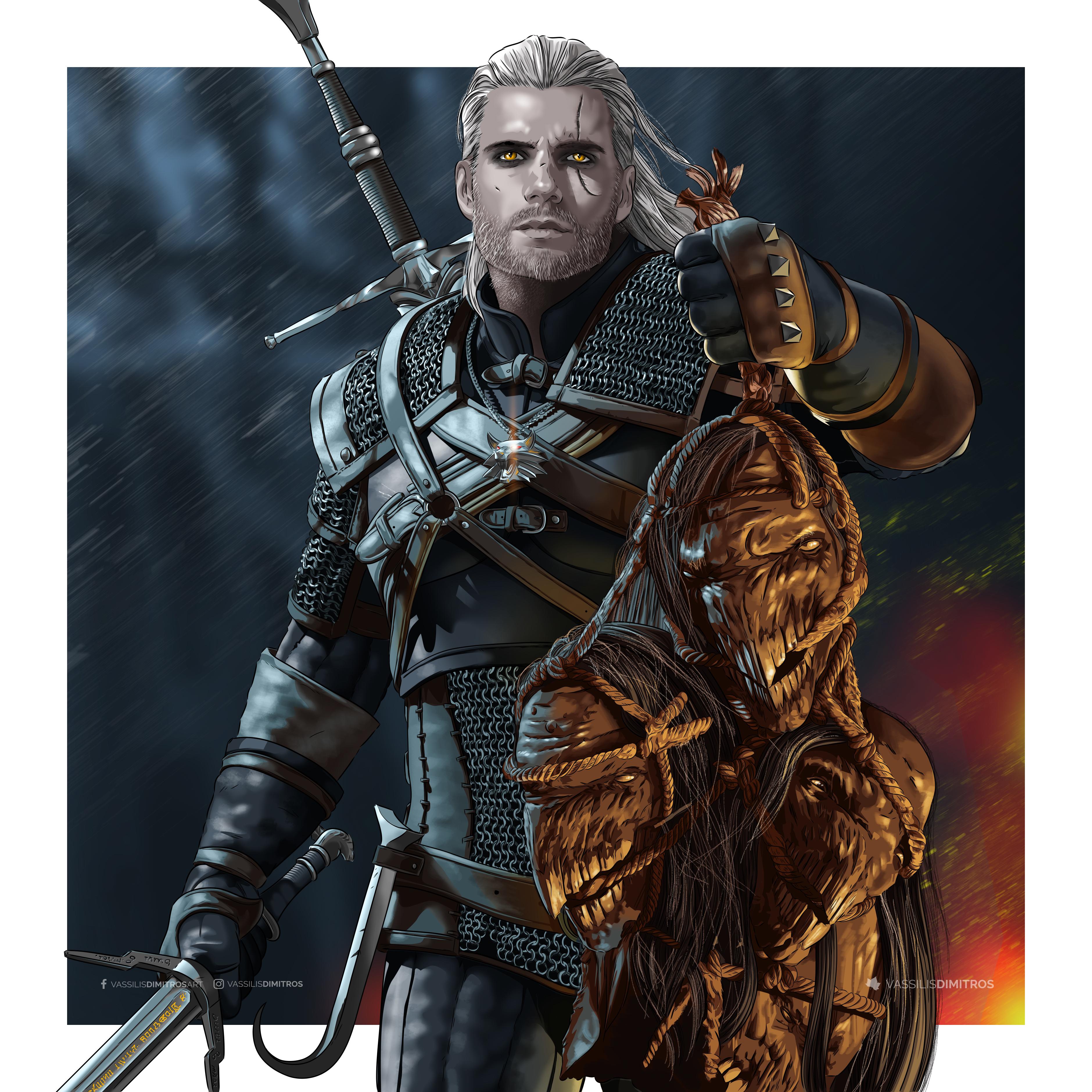 Geralt Of Rivia Netflix Wallpaper Hd Tv Series 4k