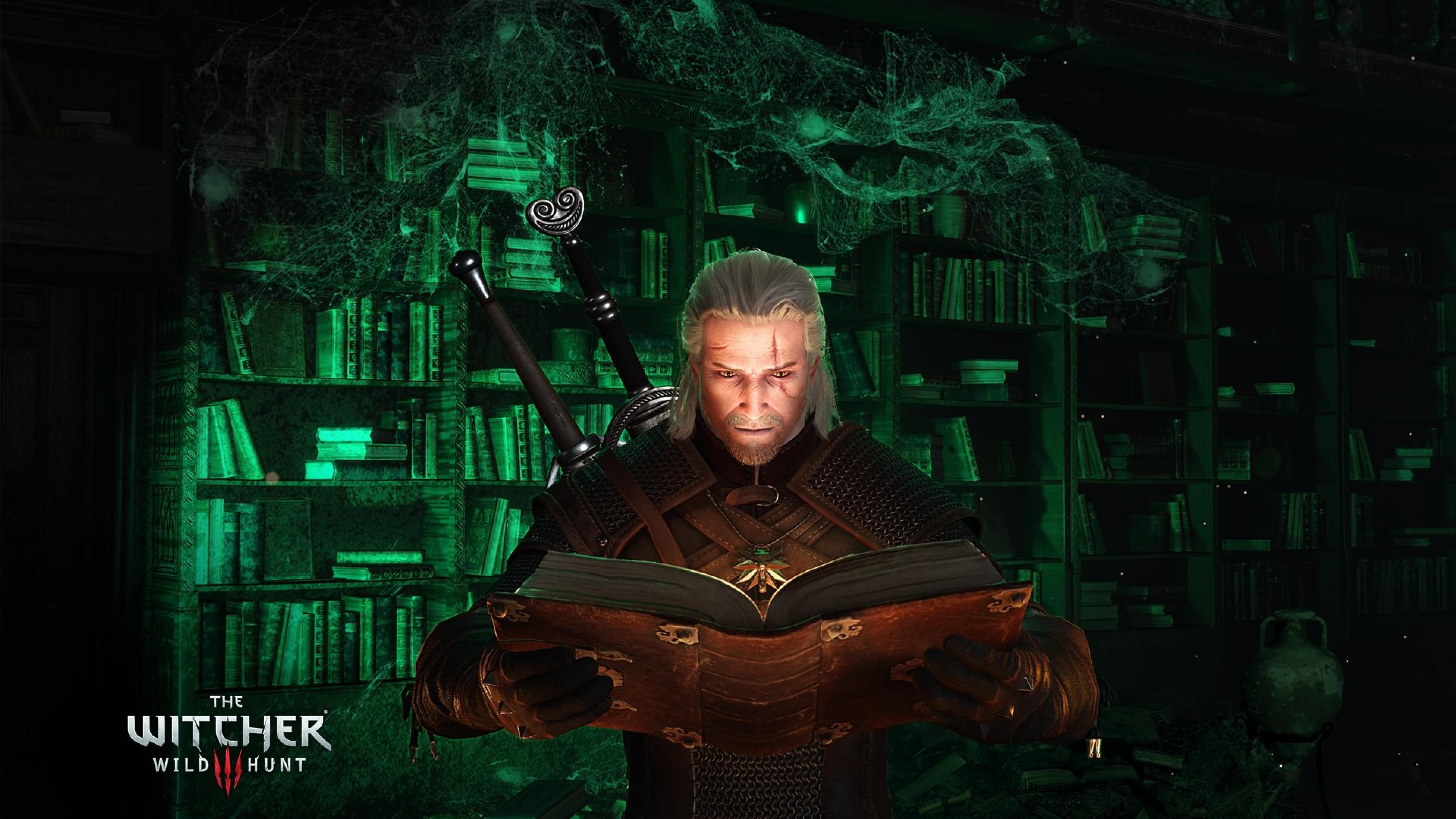 3840x2160 Geralt Of Rivia The Witcher 3 Wild Hunt 4k