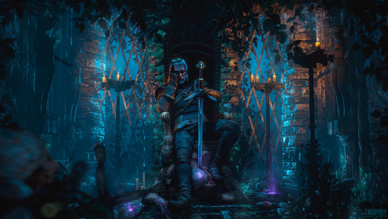1360x768 Geralt Of Rivia The Witcher 3 Desktop Laptop Hd Wallpaper
