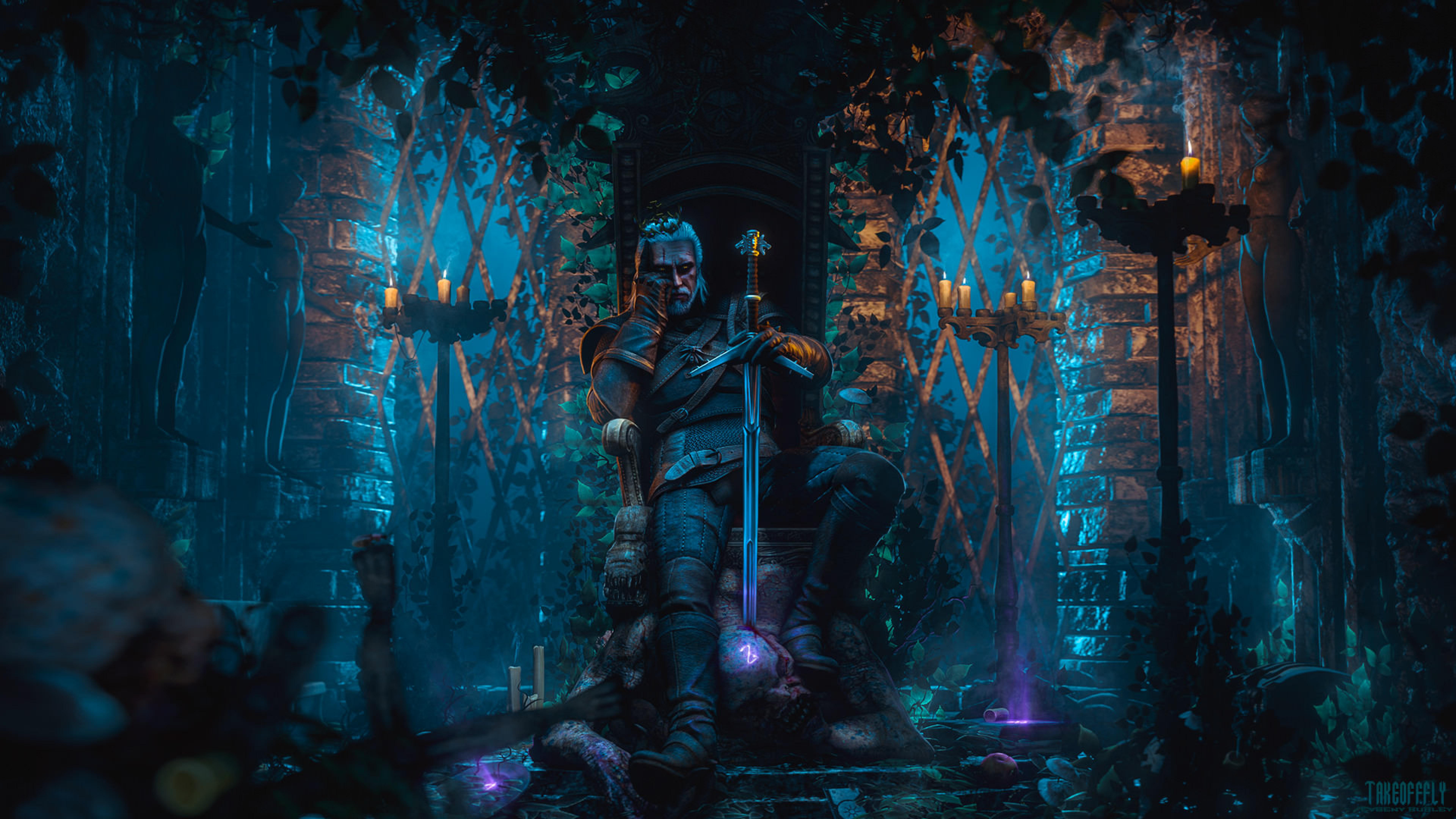 7680x4320 Geralt Of Rivia The Witcher 3 8k Wallpaper Hd Games 4k