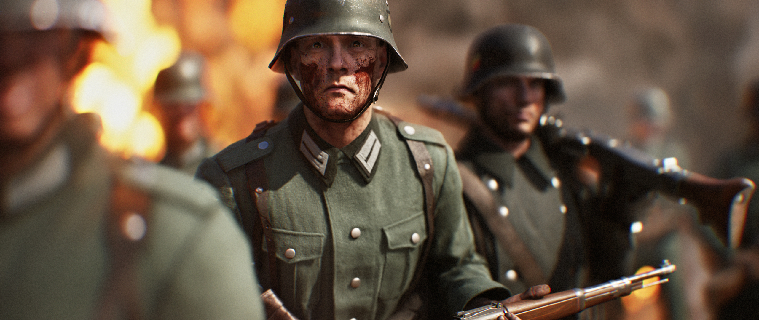 2560x1080 German Soldiers Battlefield 5 2560x1080 ...