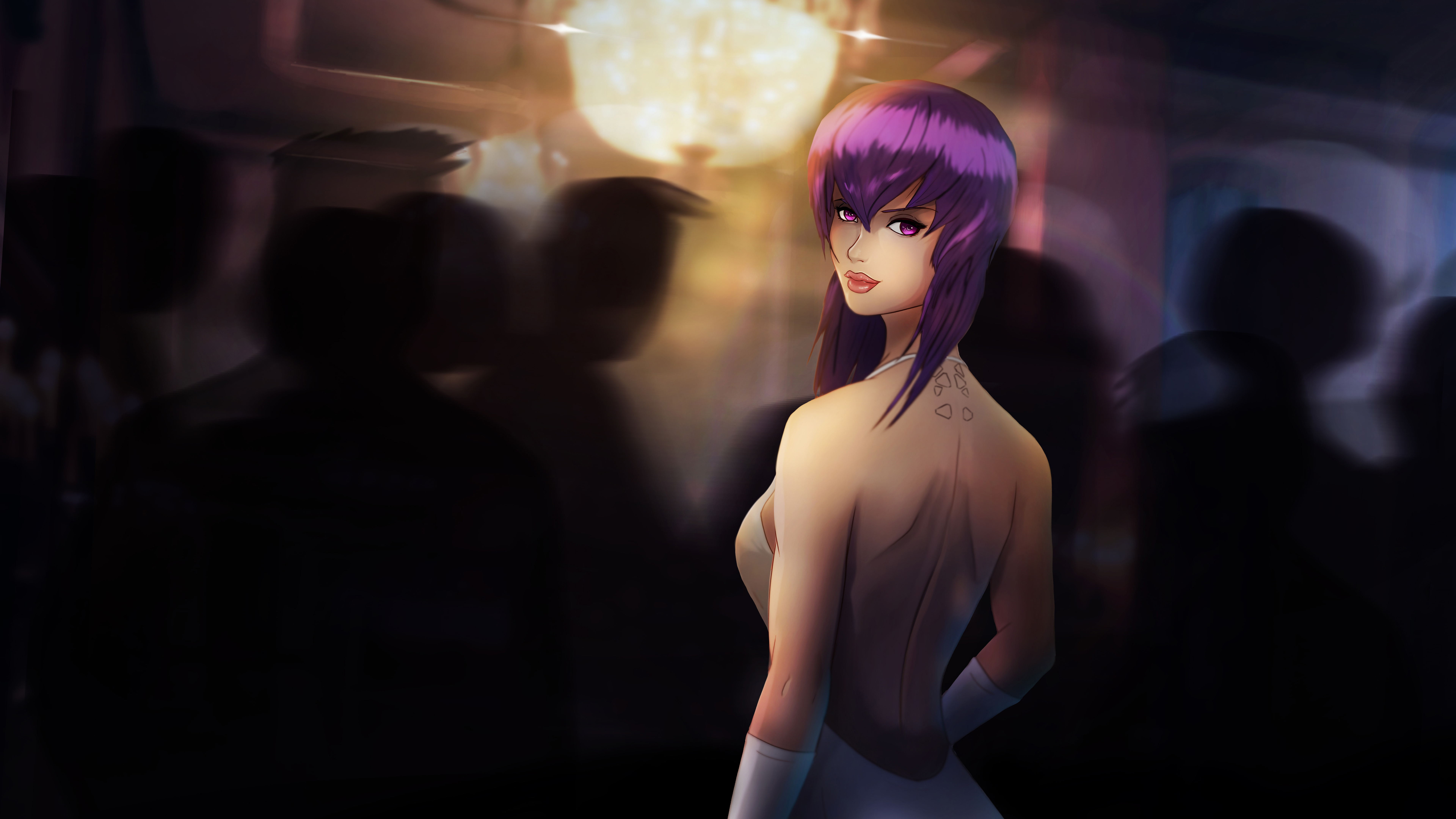 7680x4320 Ghost In The Shell Anime 8k Wallpaper Hd Anime 4k