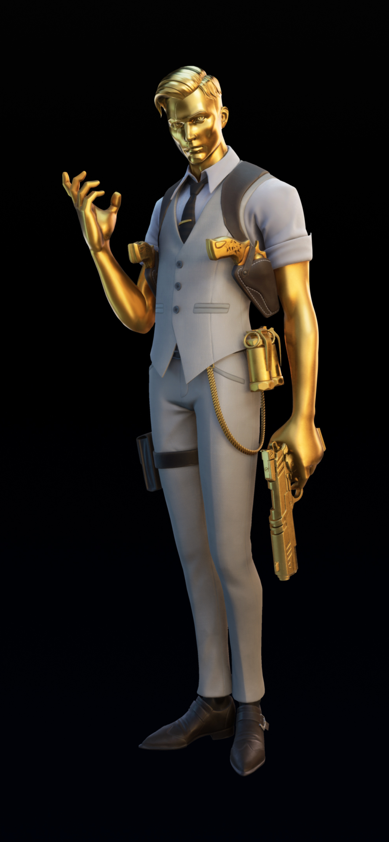 1242x2688 Ghost Midas Fortnite Chapter 2 Iphone XS MAX ...