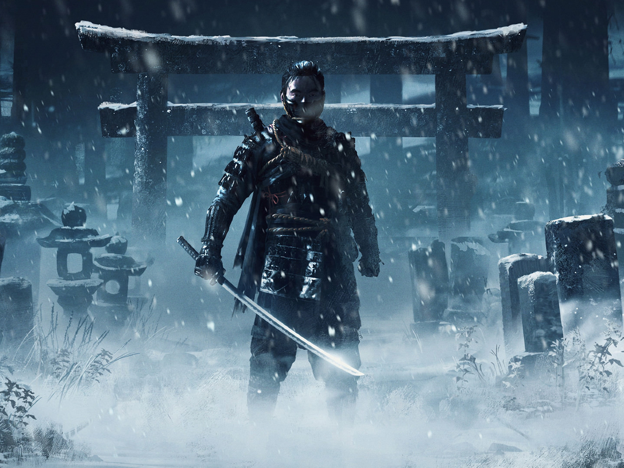 Ghost Of Tsushima Full Hd Wallpaper