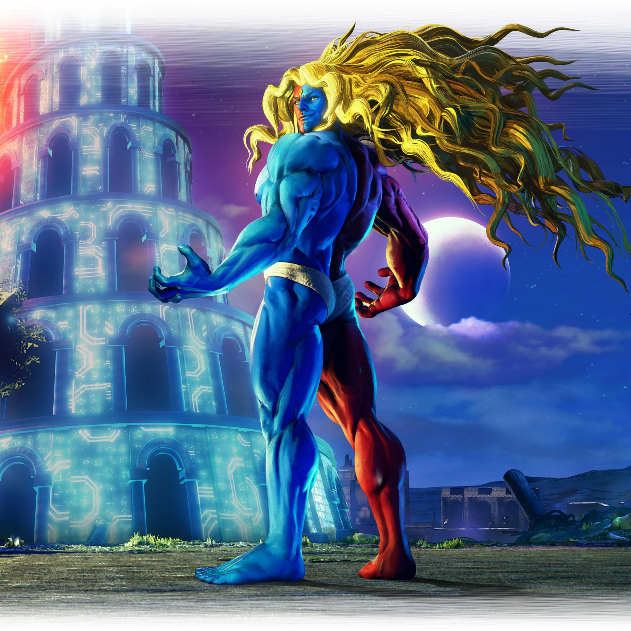 2048x2048 Gill In Street Fighter 5 Ipad Air Wallpaper Hd Games 4k