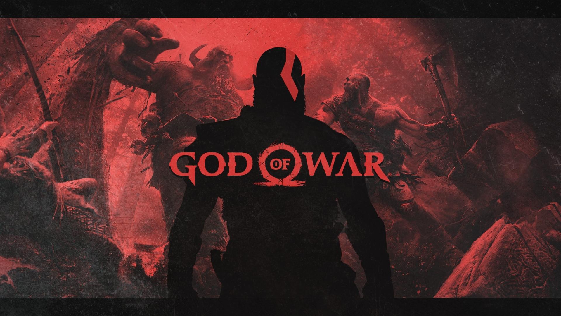 1920x1080 God Of War 4 Video Game Poster 1080p Laptop Full