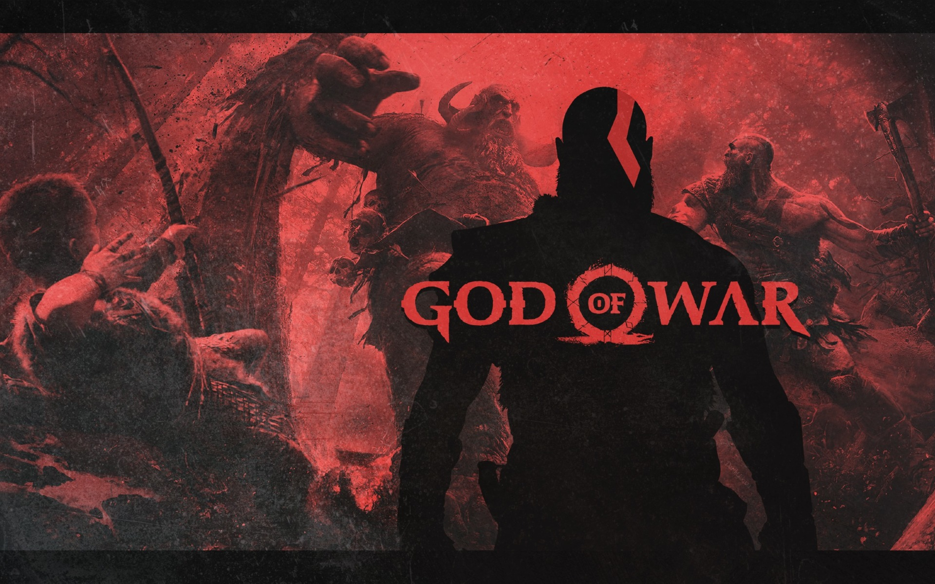 4k Girls Redmi Note 5 Mobile Wallpaper: God Of War 4 Video Game Poster, HD 4K Wallpaper