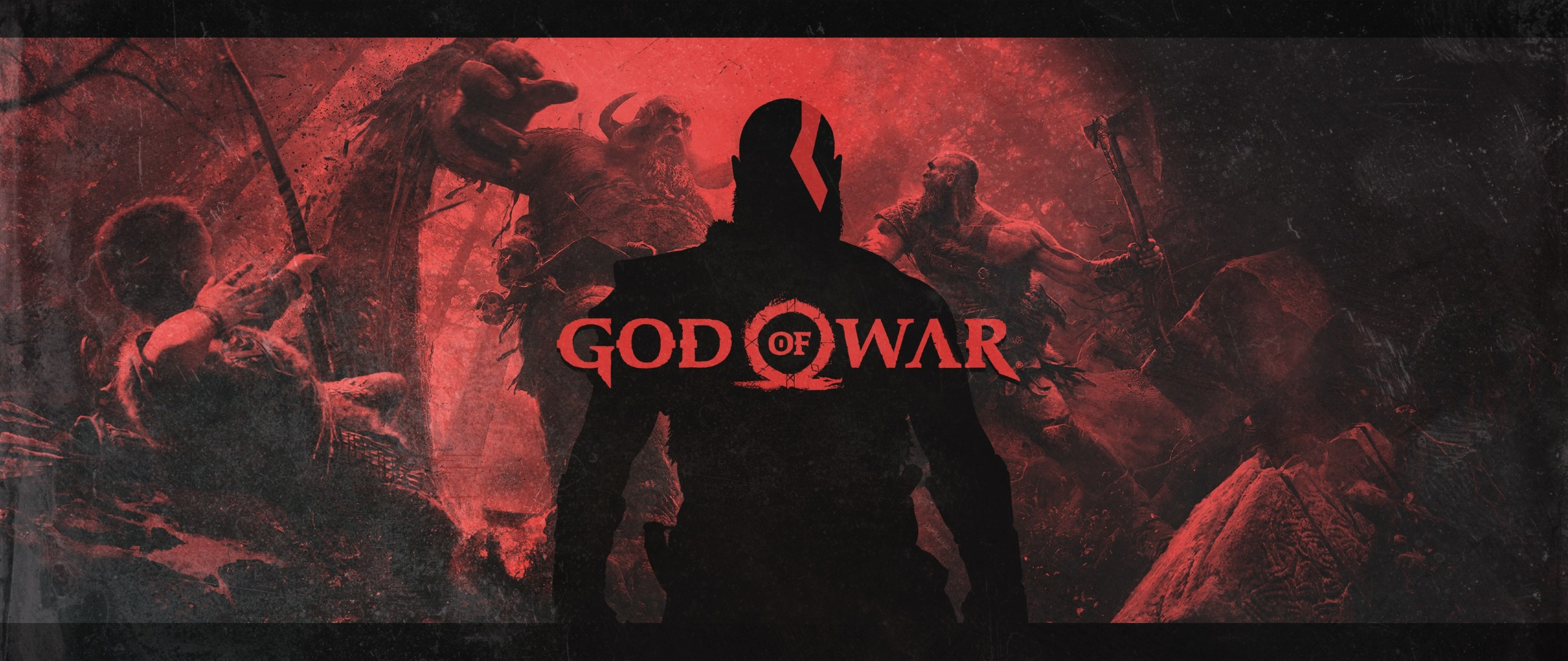 God Of War 4 Video Game Poster, HD 4K Wallpaper