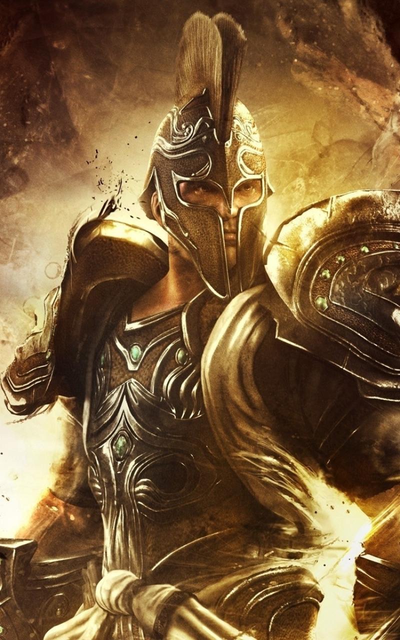 Download God Of War Ascension God Of War Soldier 800x1280