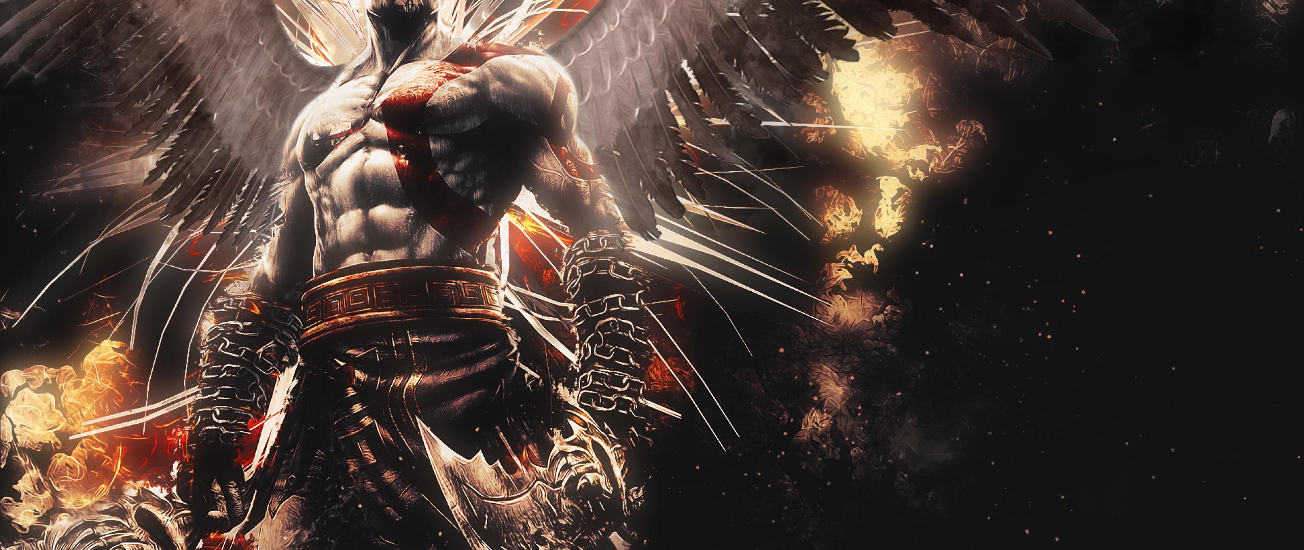 2560x1080 God Of War Ascension Kratos 2560x1080 Resolution